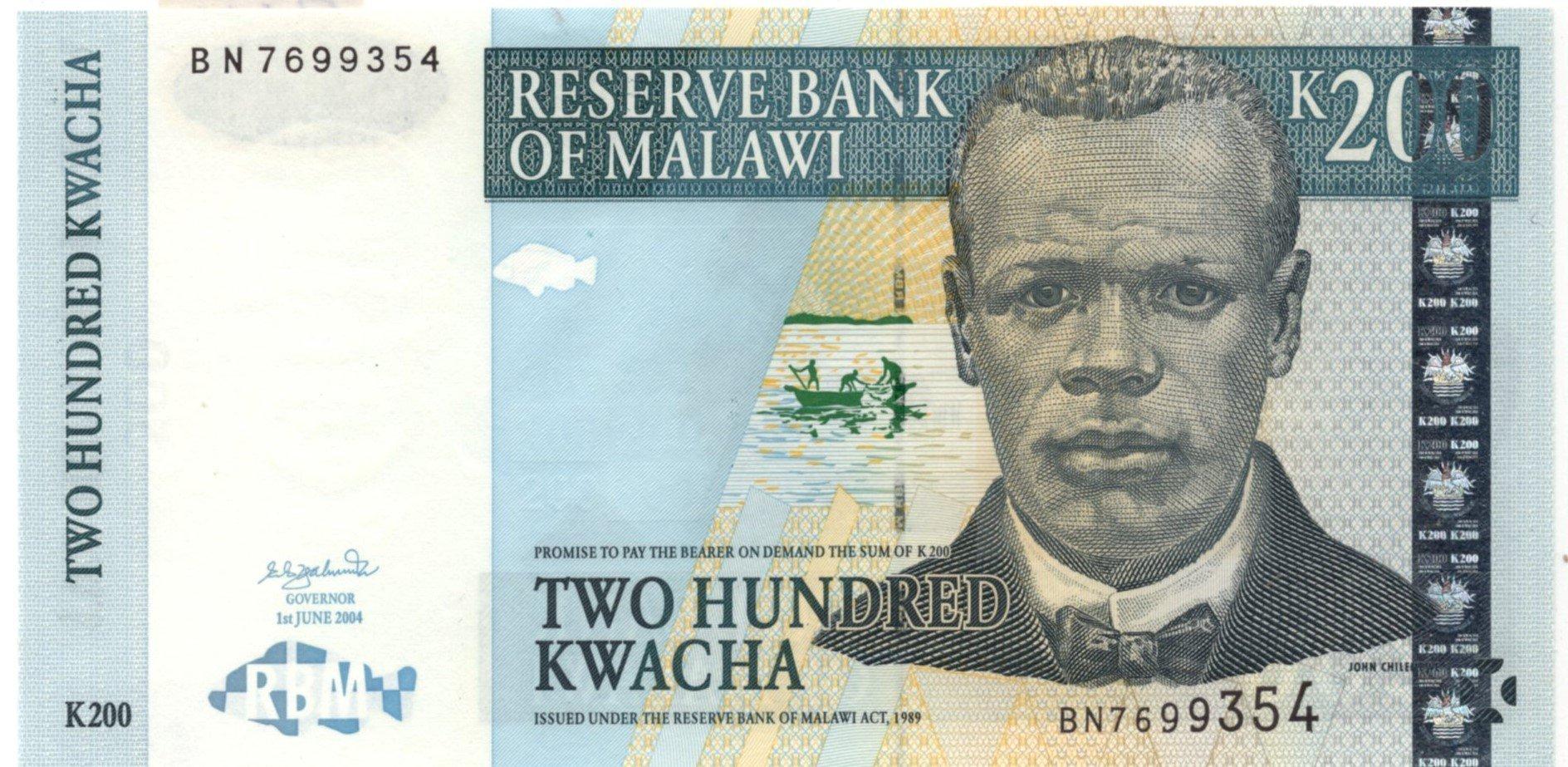 malawi 200 kwacha