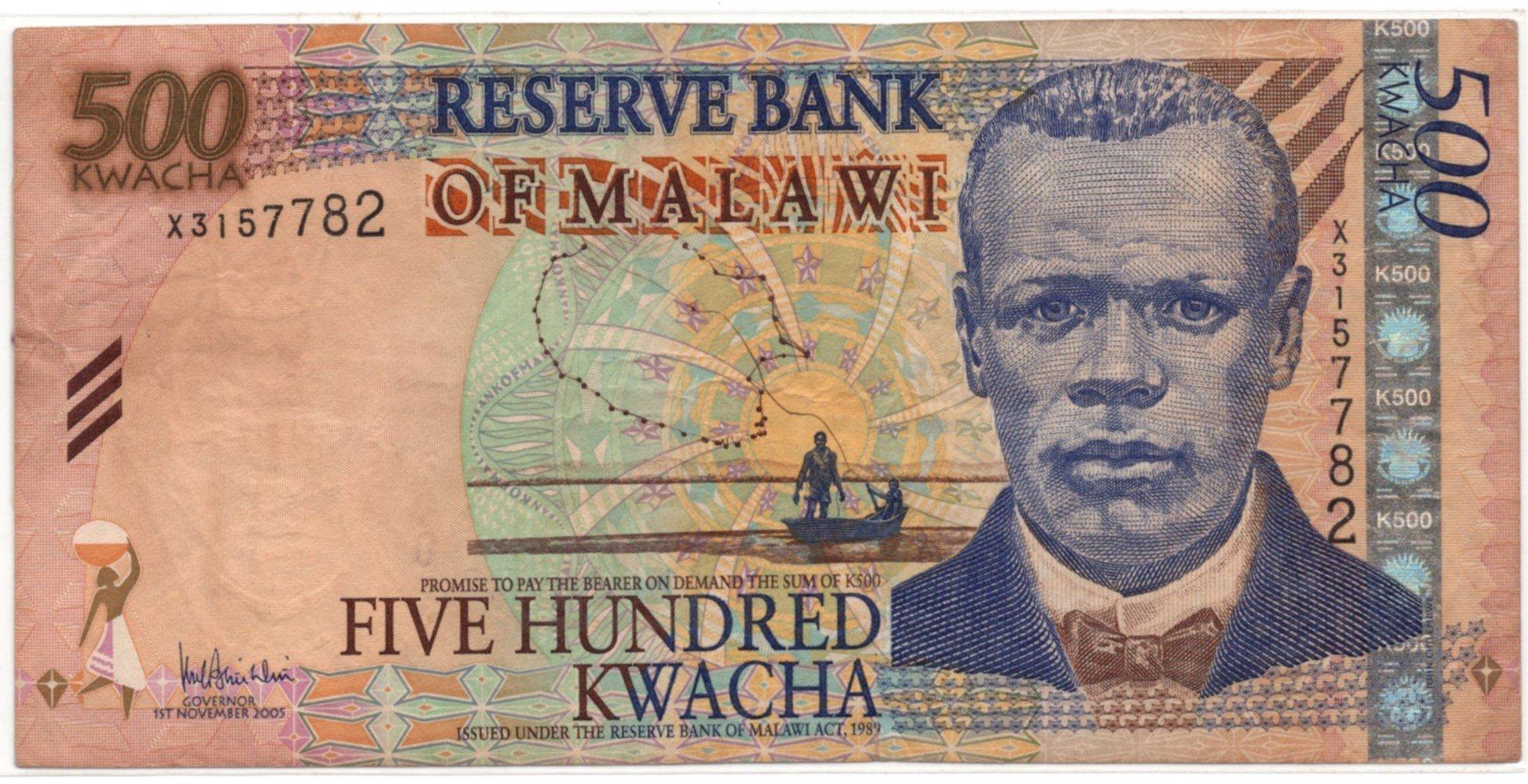 malawi 500 kwacha