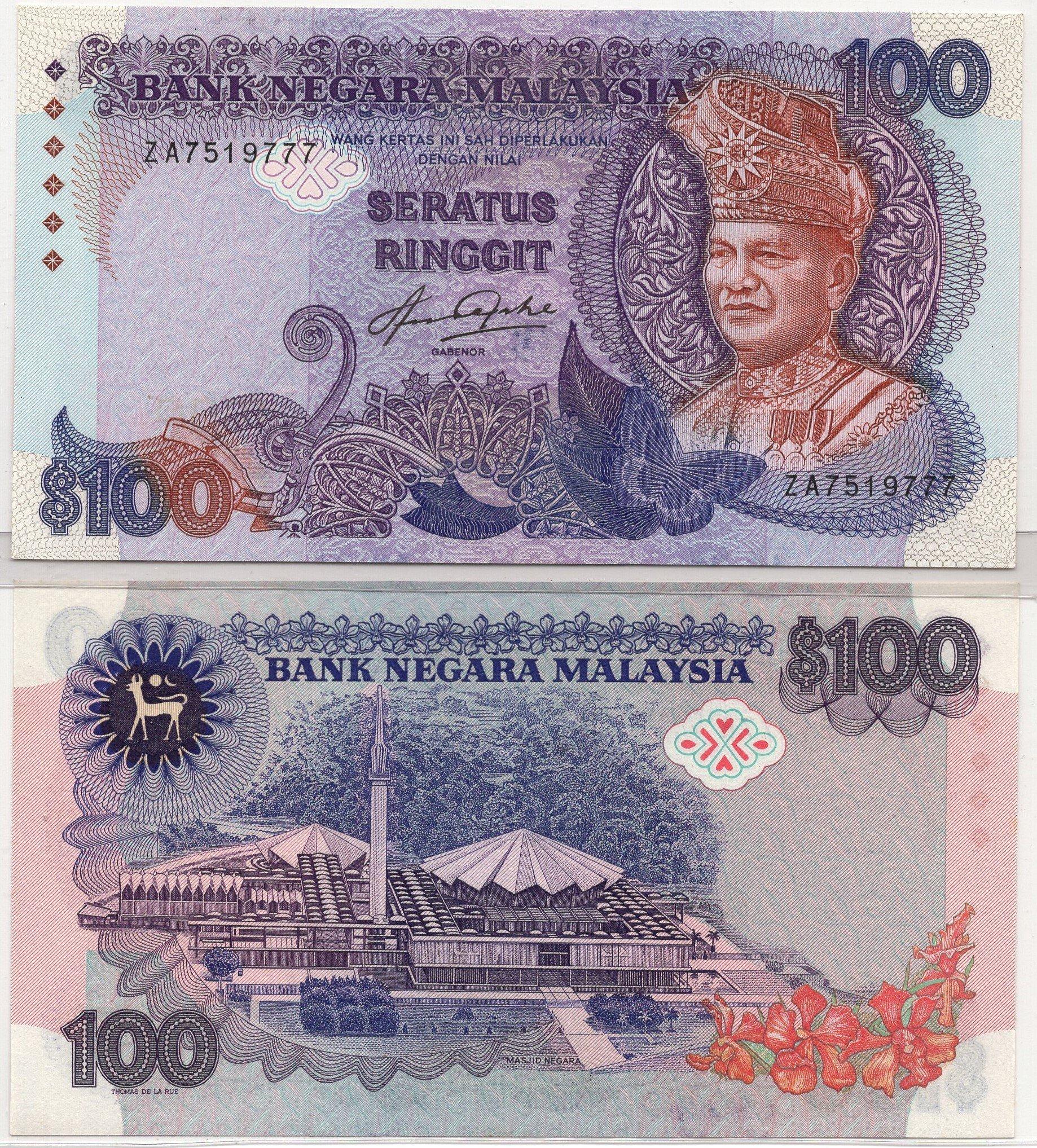 Malaysia 100 ringgit P24