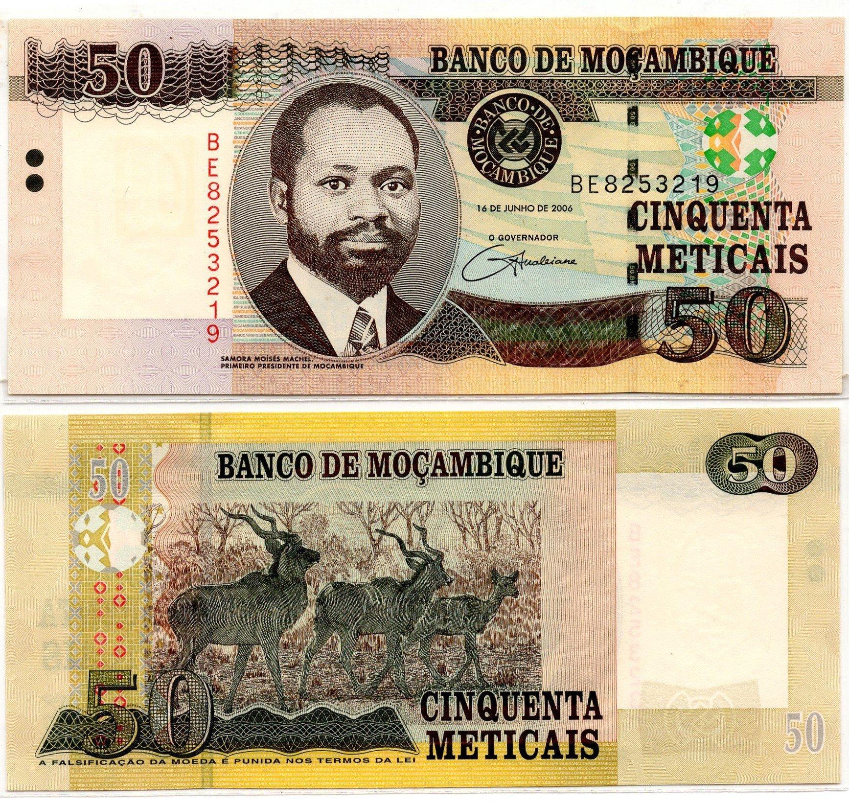 mozambique 50 metacais