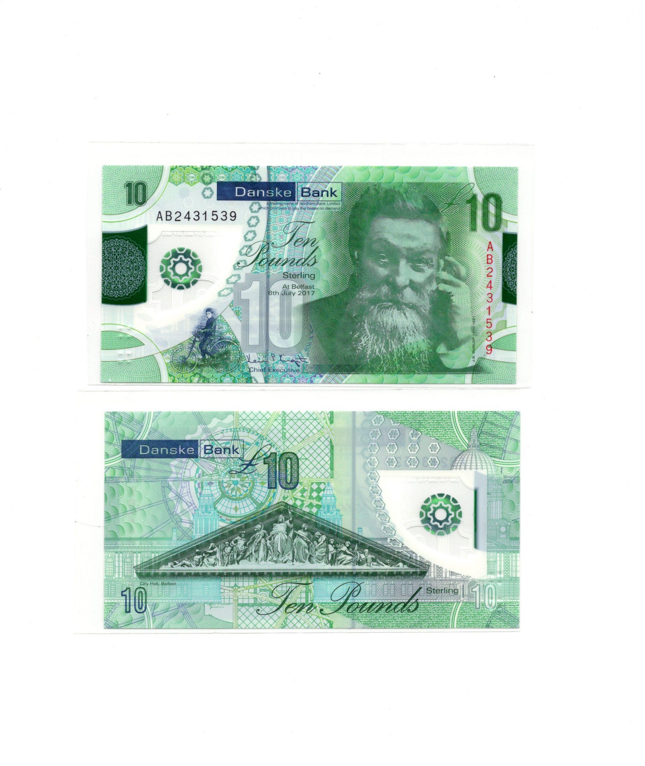Ireland 10 banke bank
