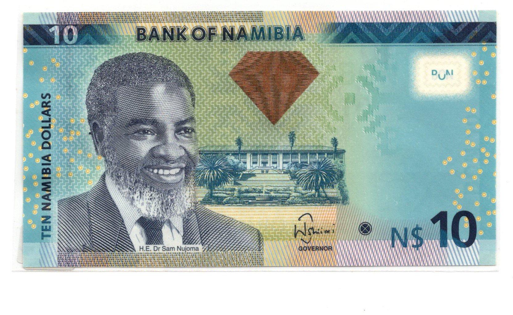 namjbia 10 dollars 2013