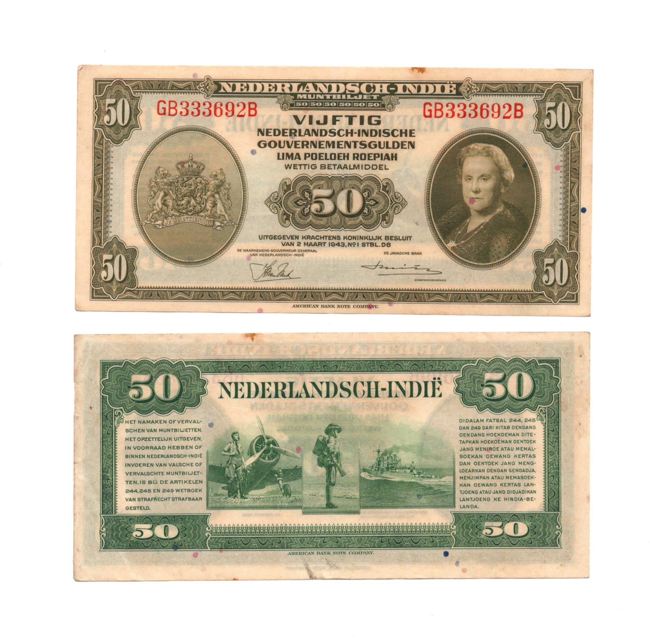 netherland dinies 50 gulden