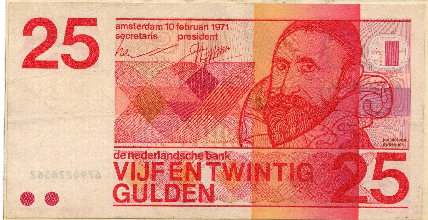 netherlands 25 gulden