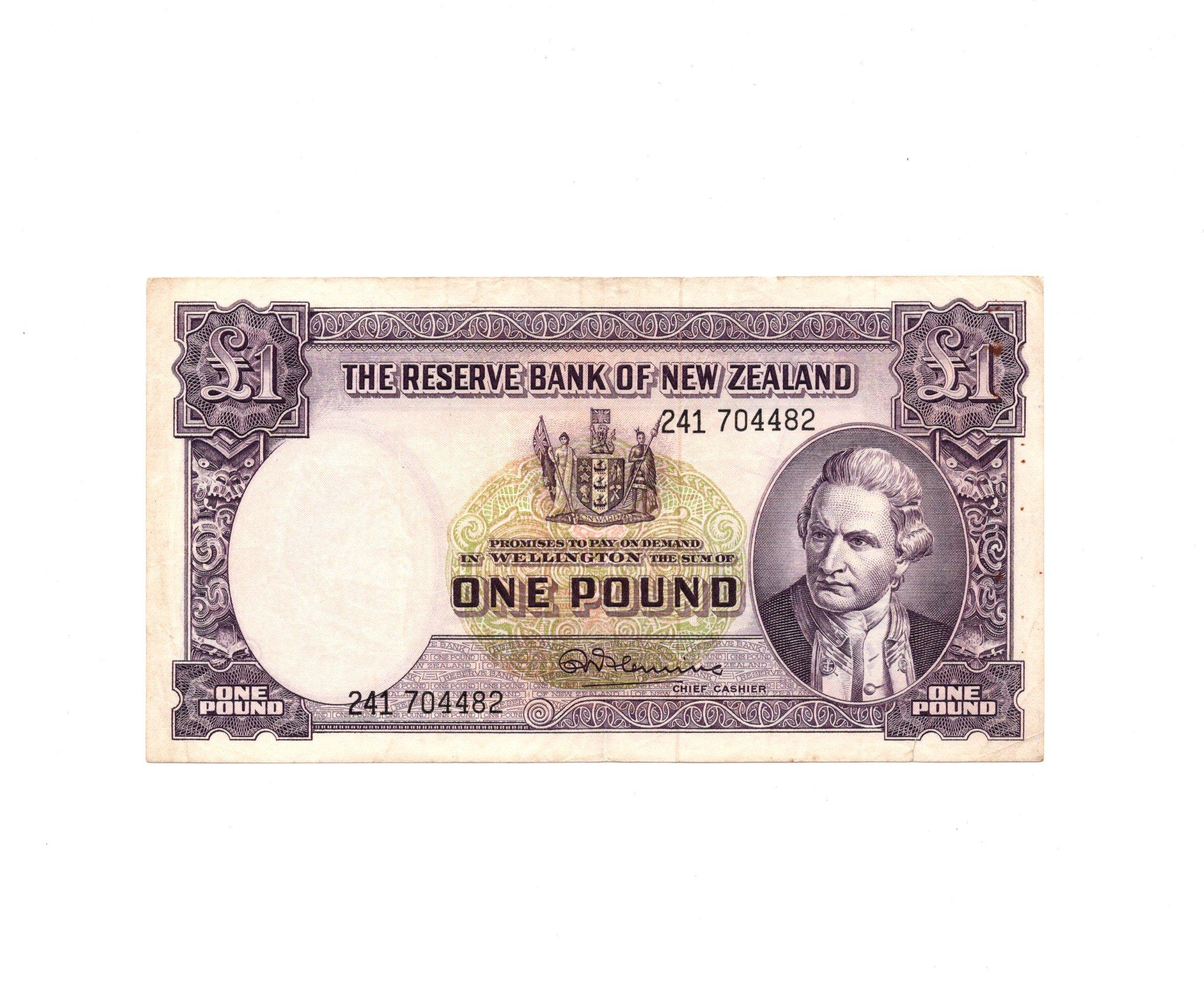 NZ 1 pound