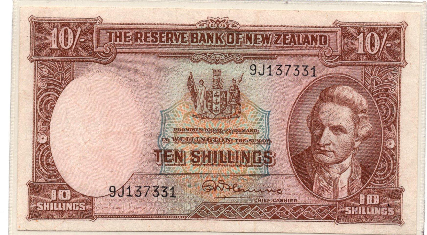 NZ 10 shillings