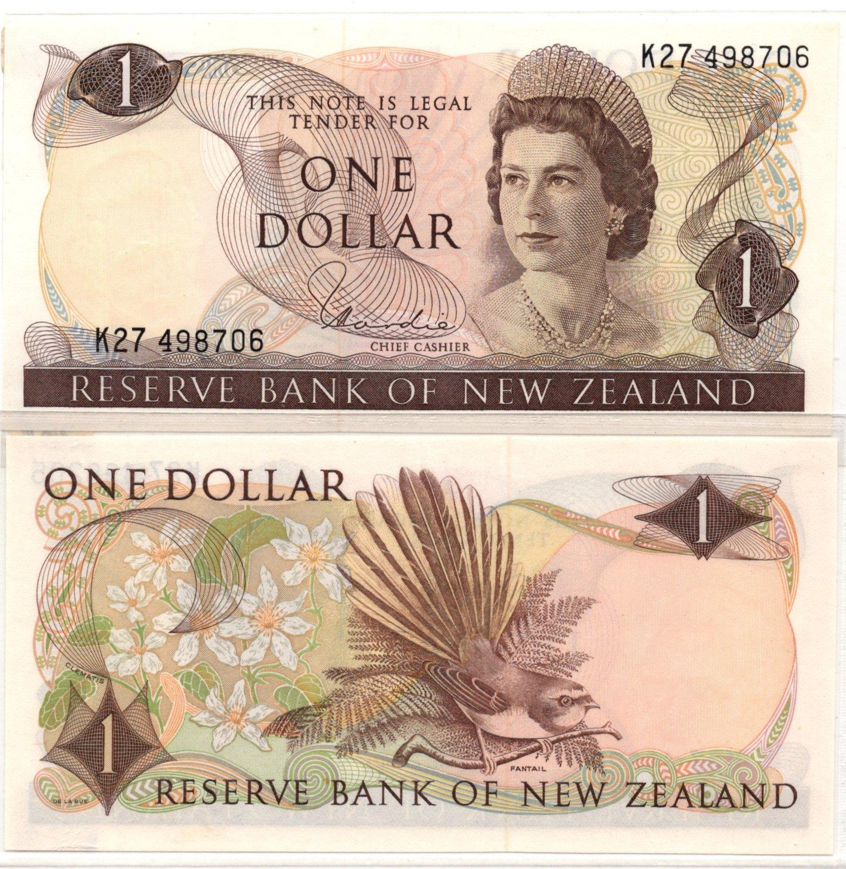 NZ 1 dollar
