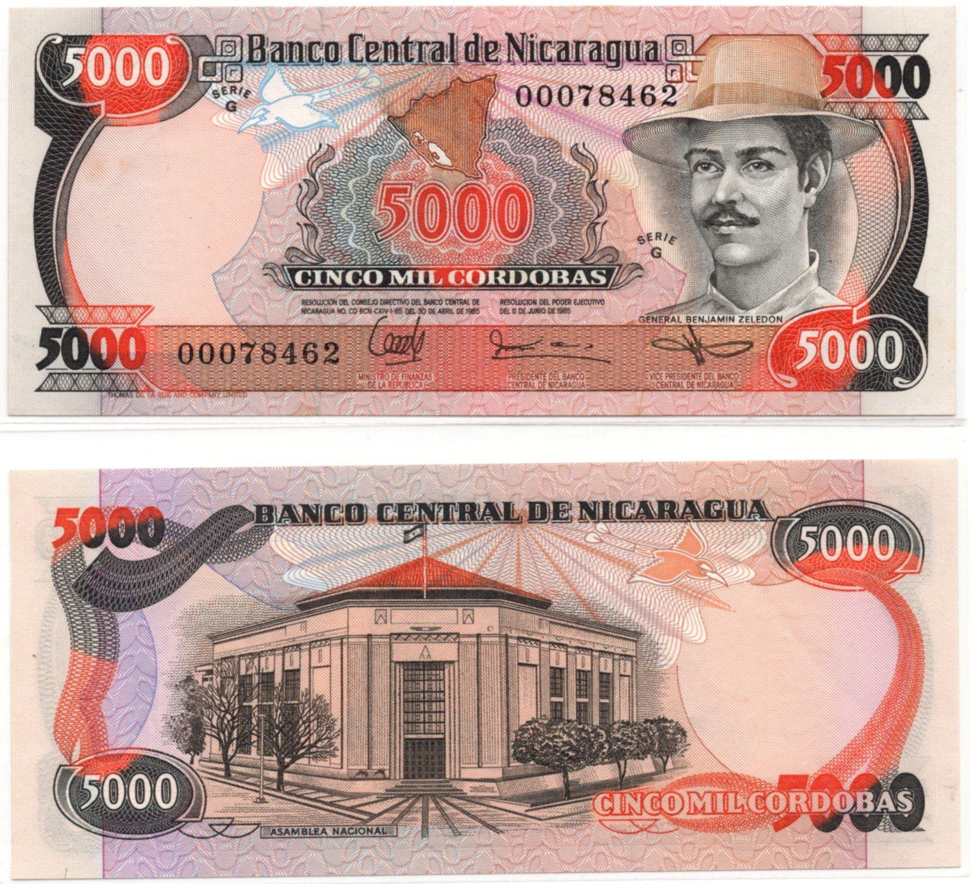 nicaragua 5000