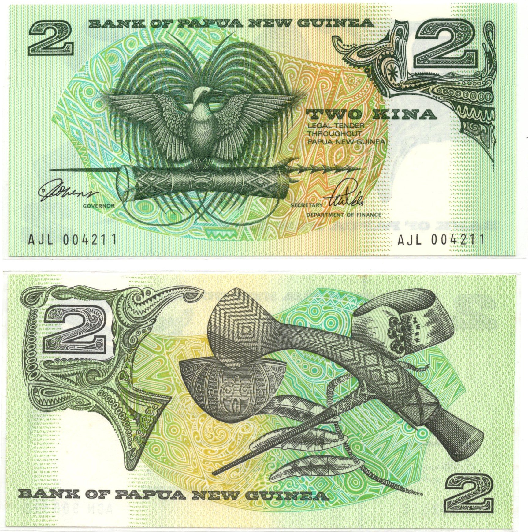 PMG 2 dollars