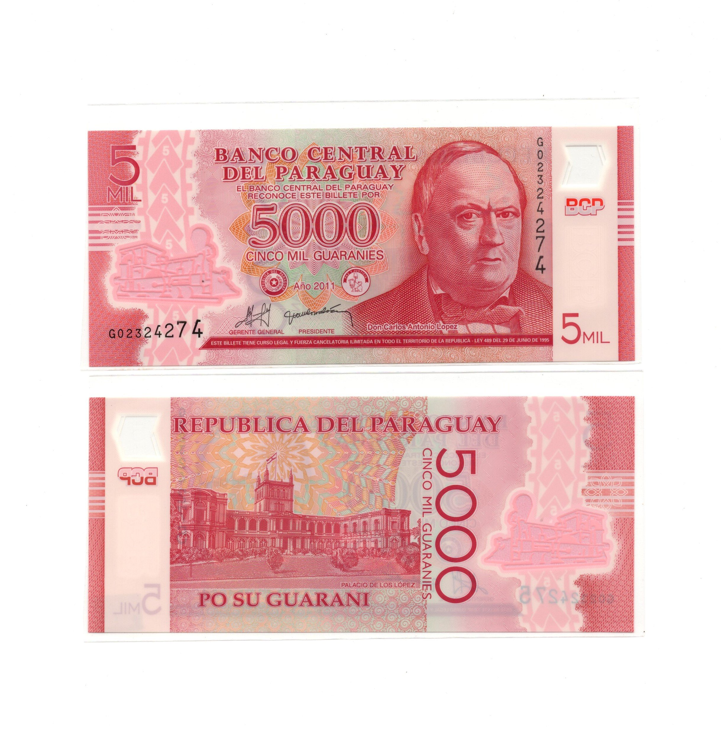 paraguay polymer
