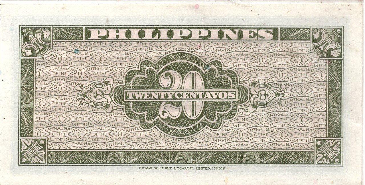 philipines 20 centavos