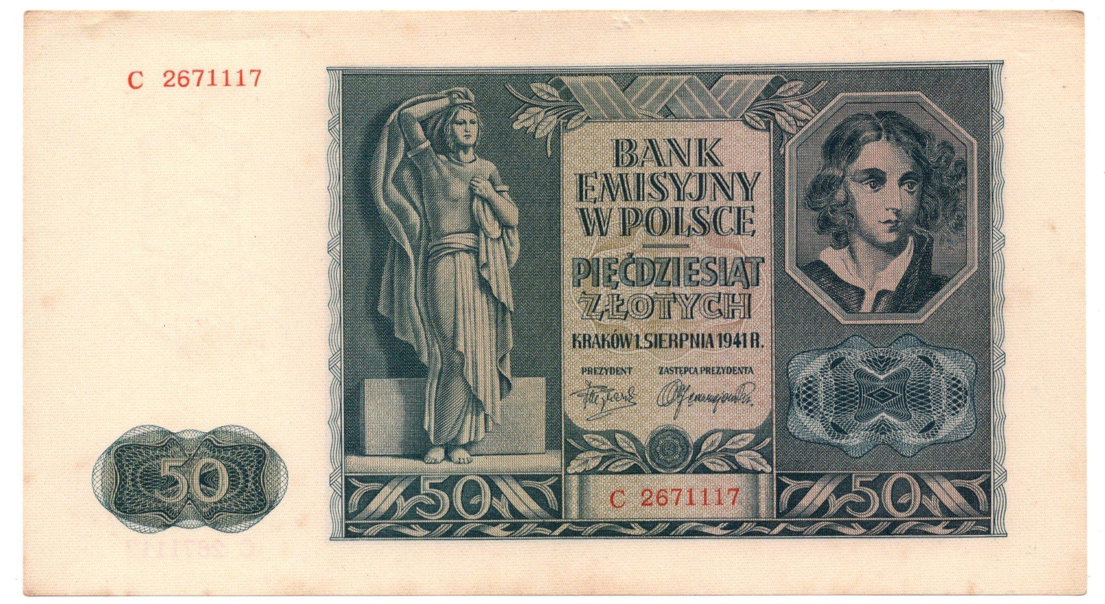 poland 50 zlotych