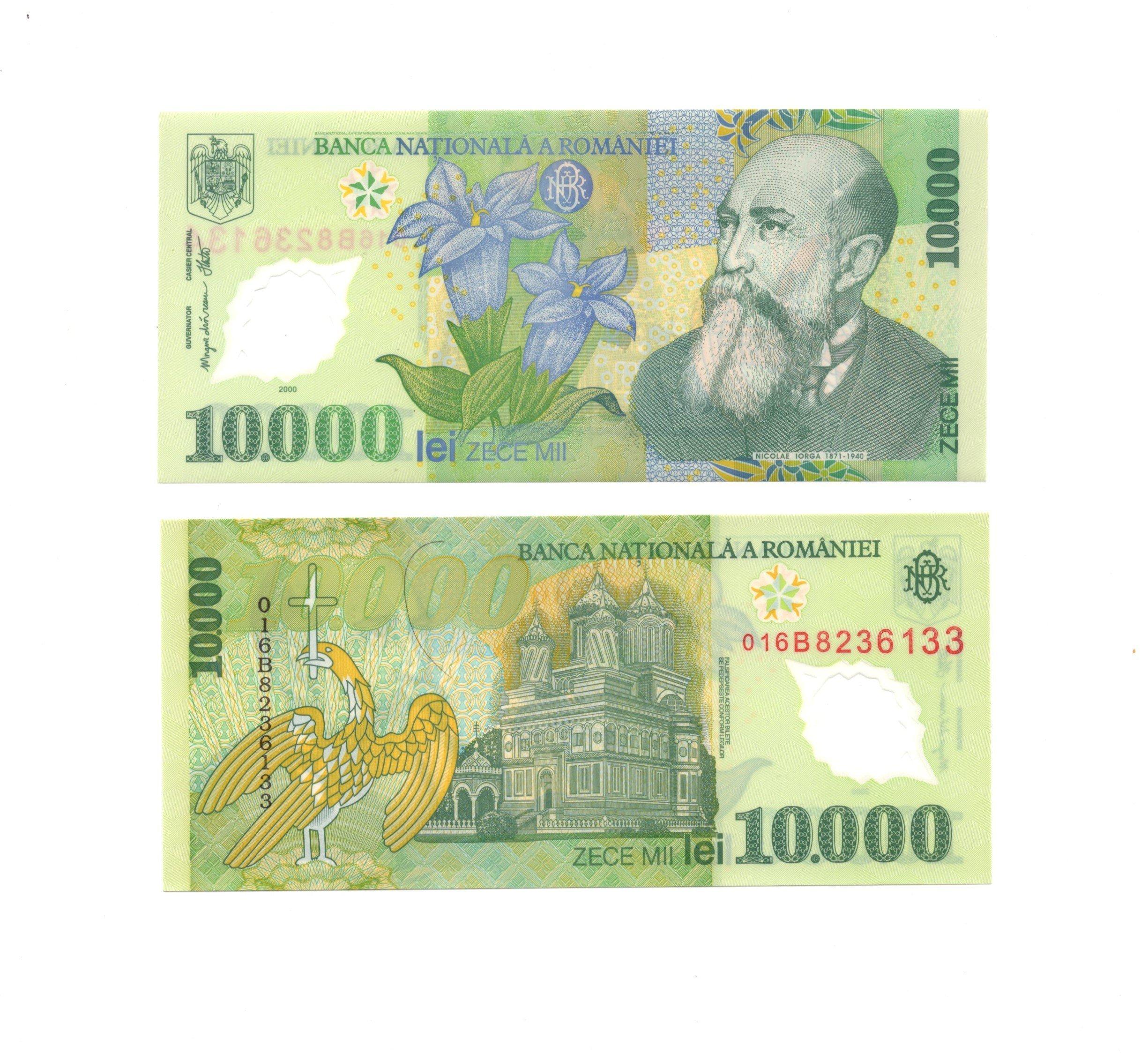 Romania 10000 lei