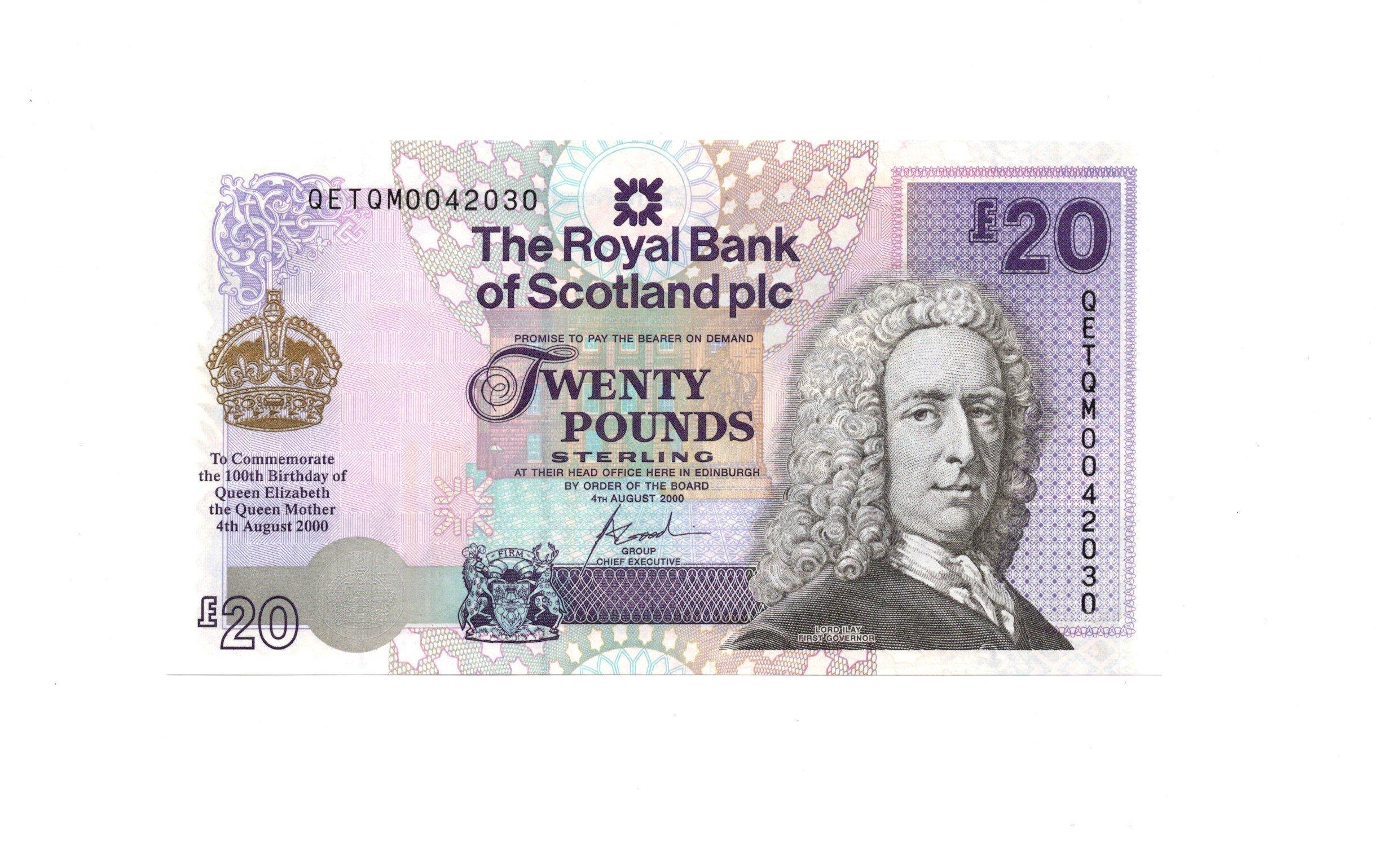 Scotland 20 pounds