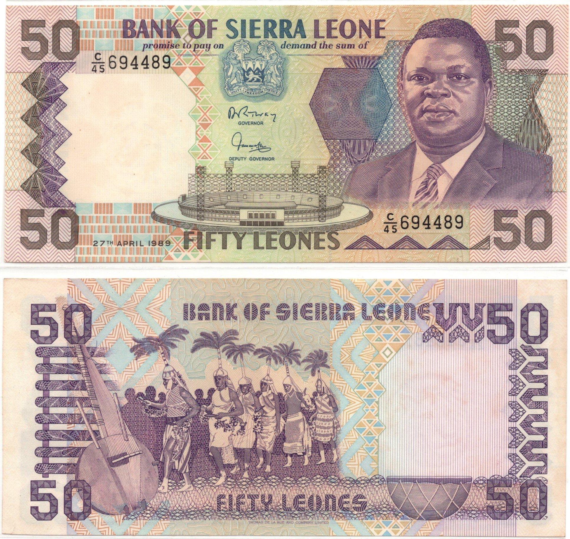 sierra leone 50