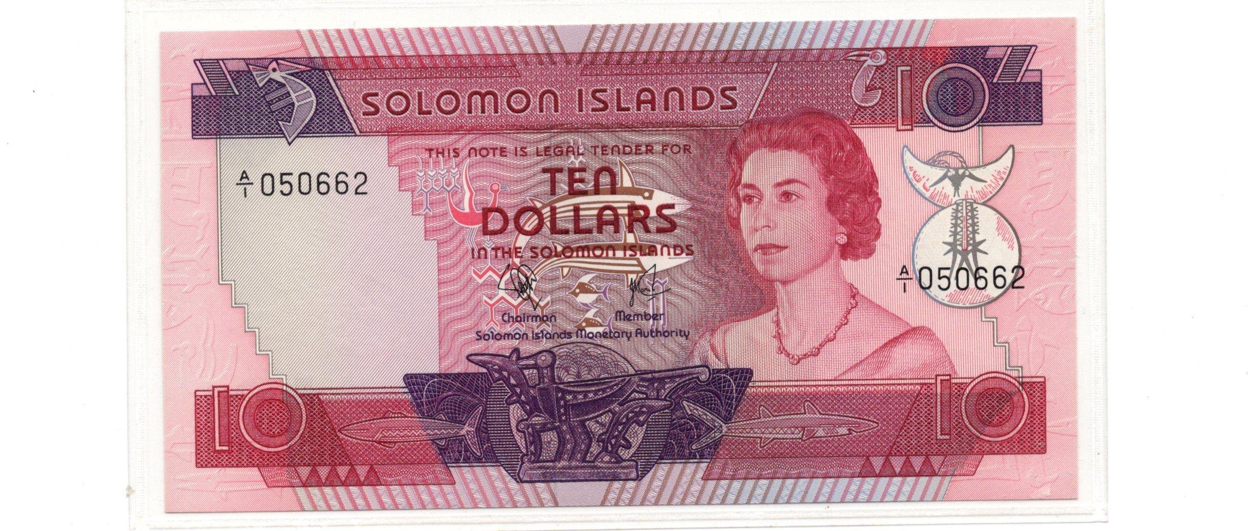 Solomon islands 10 dollars