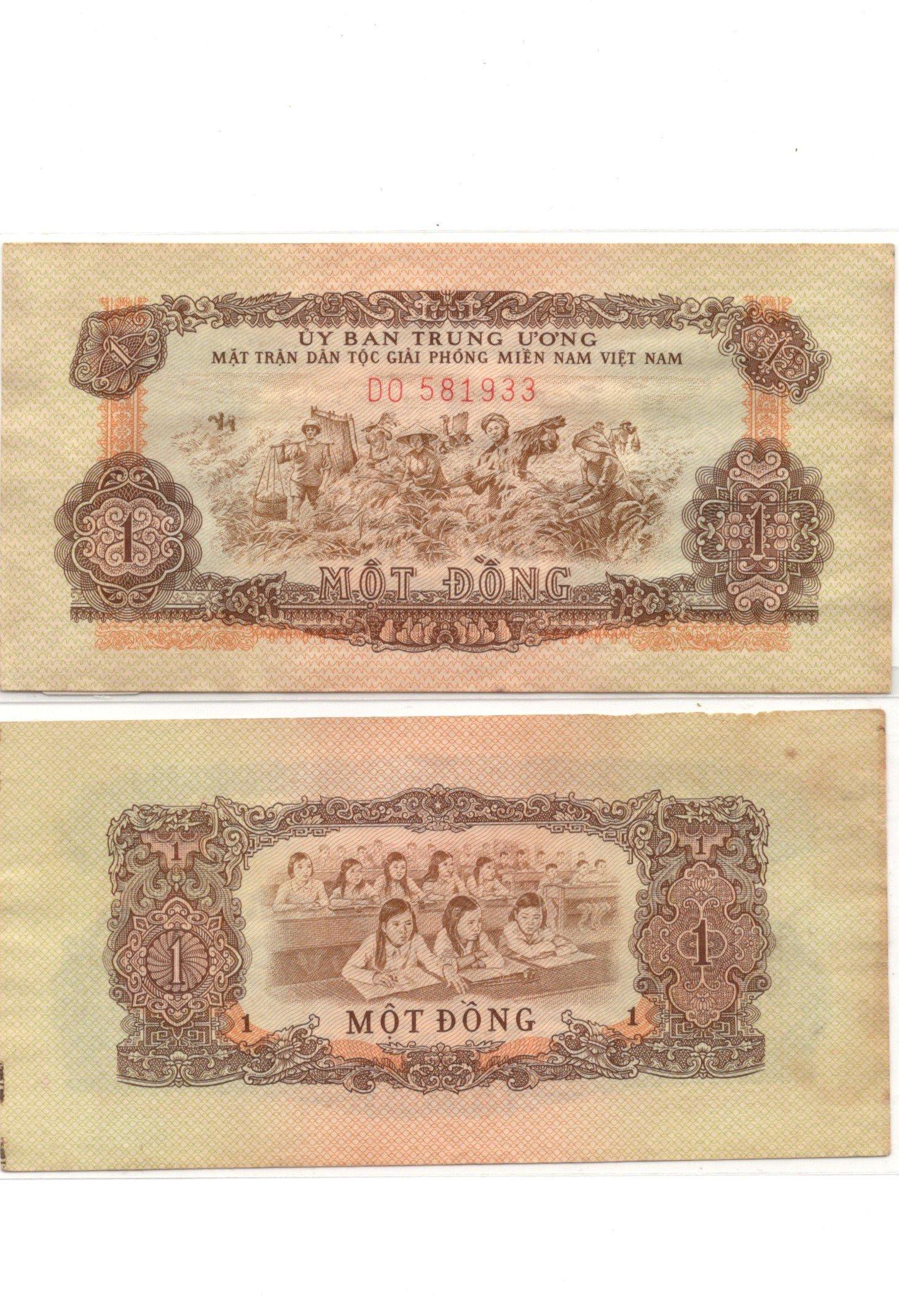 South vietnam 1 dong