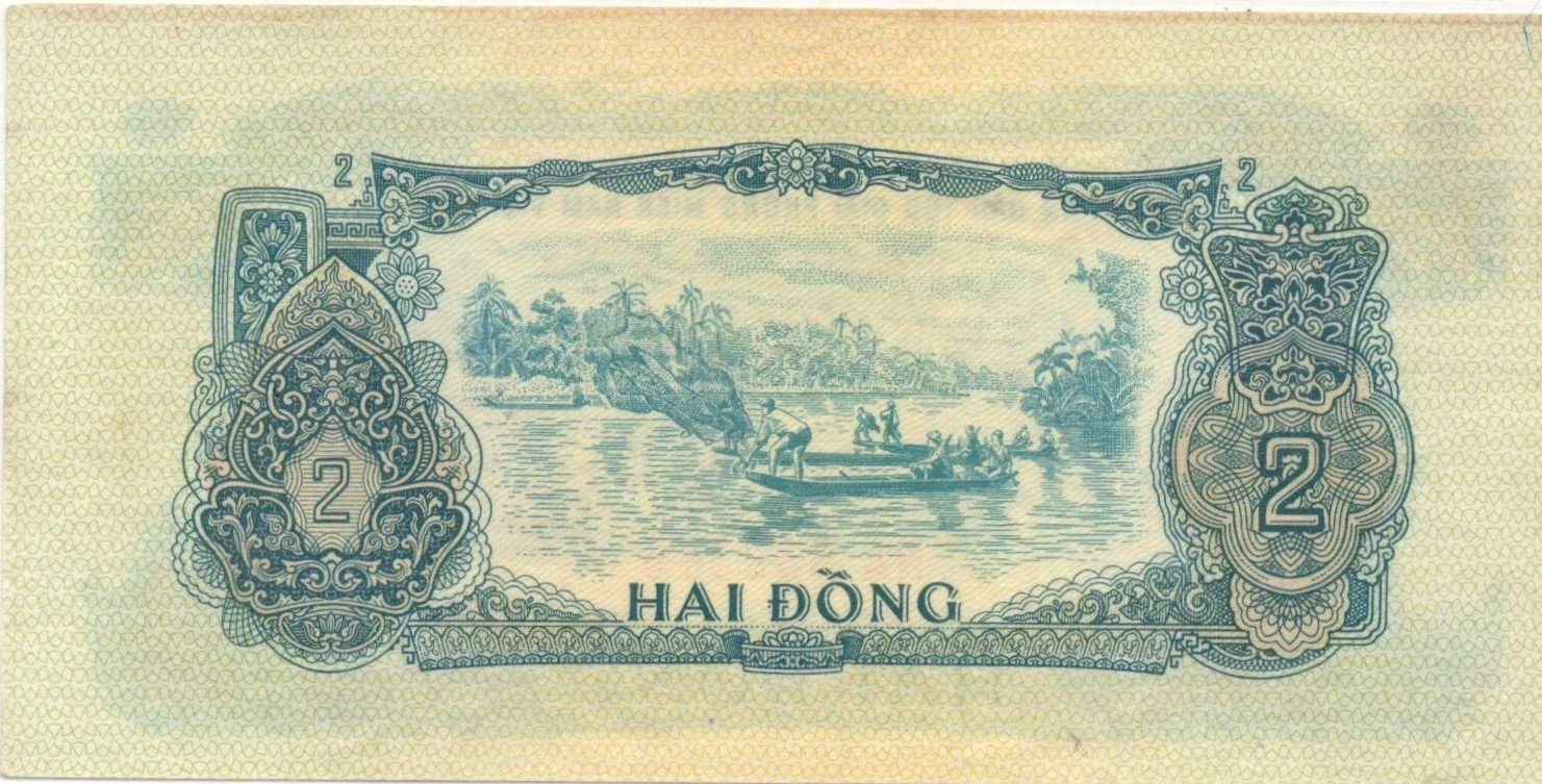 south vietnam 2 dong