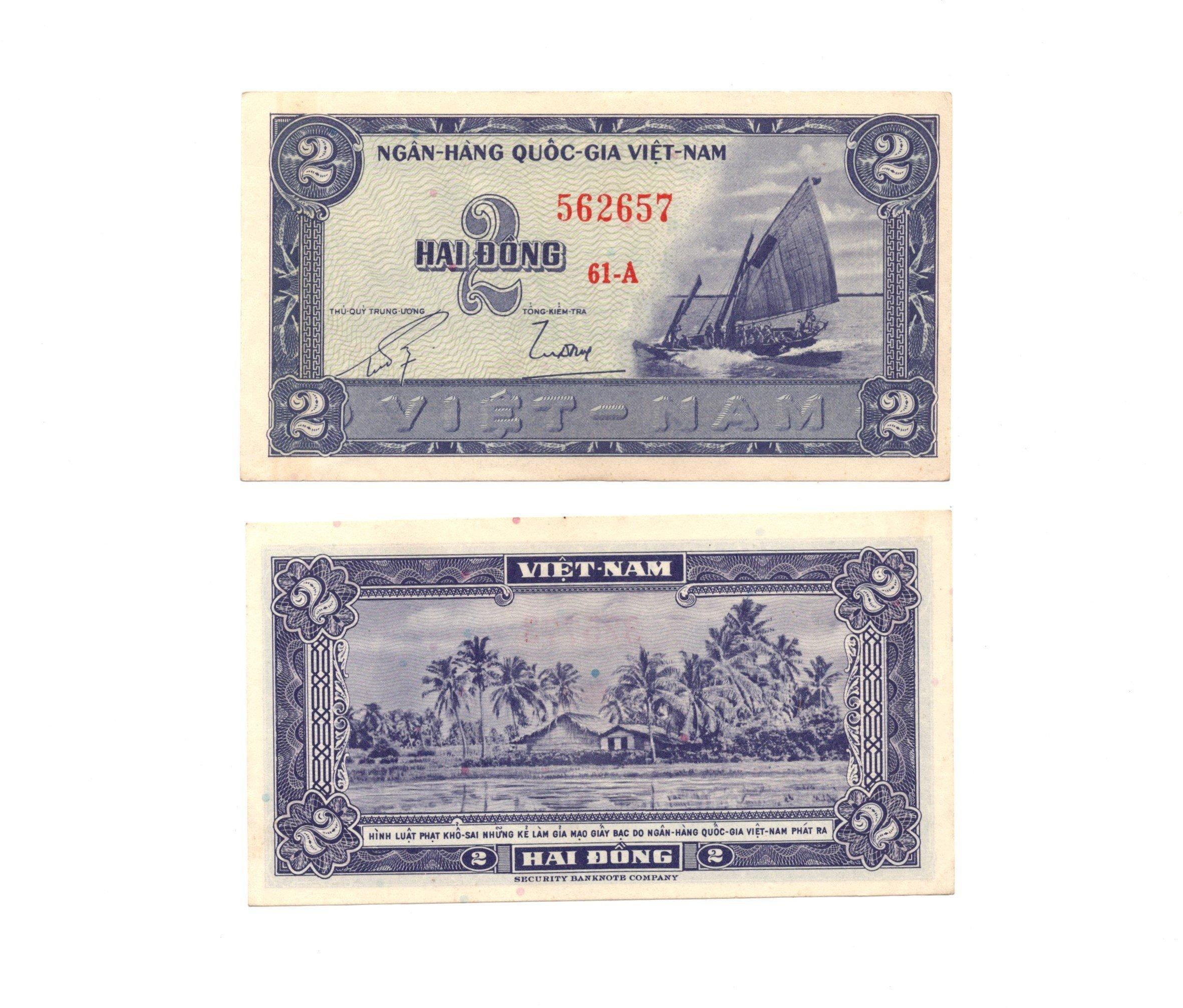 south vietnam 2 dong 1955