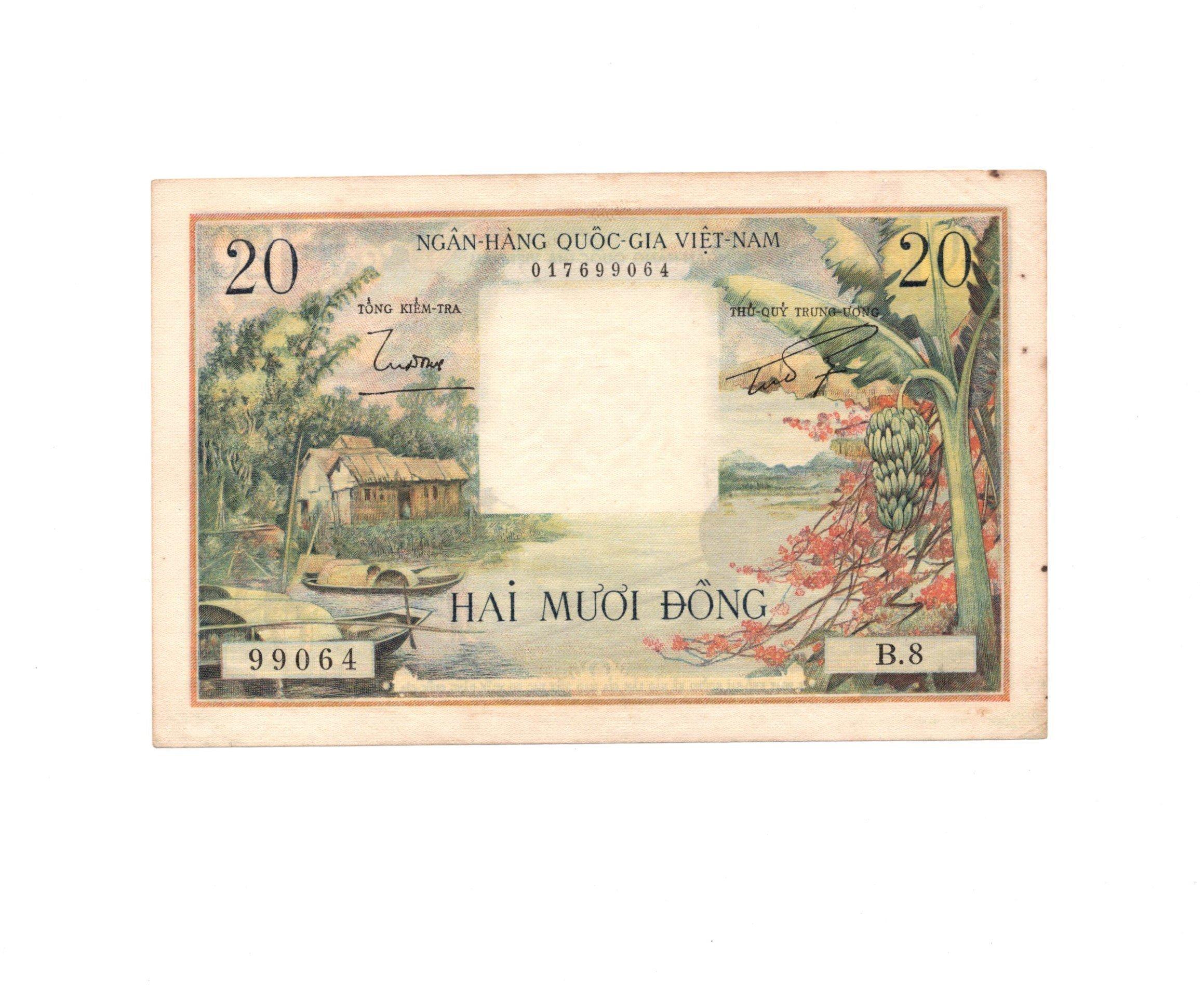 south vietnam 20 dong