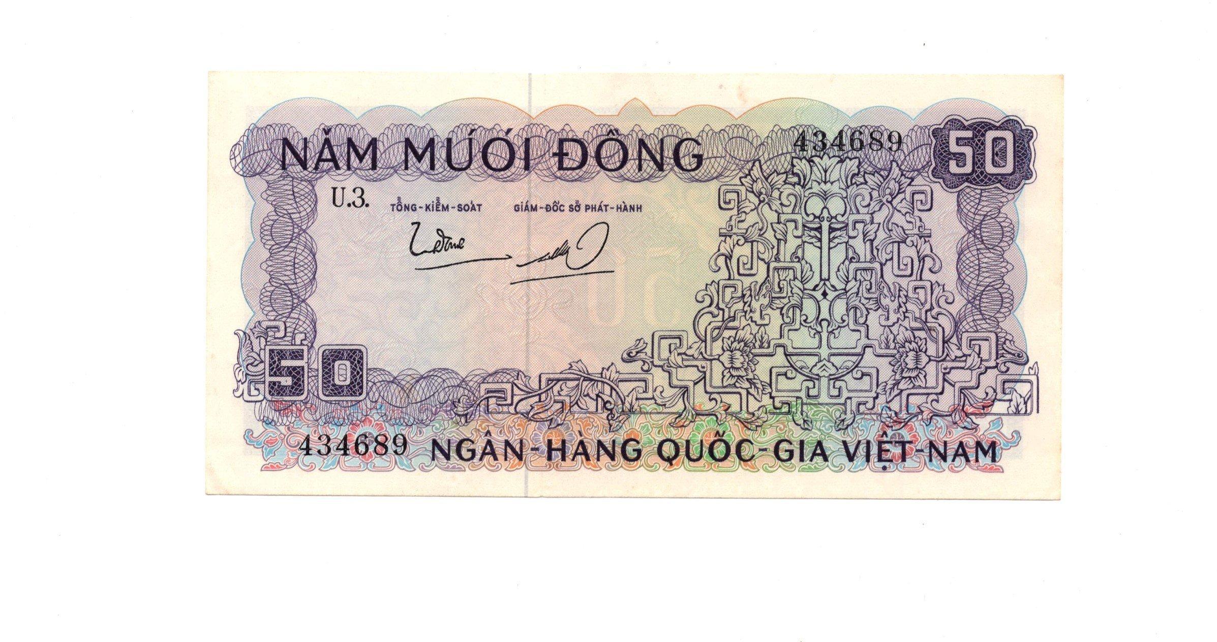 south vietnam 50 dong P17