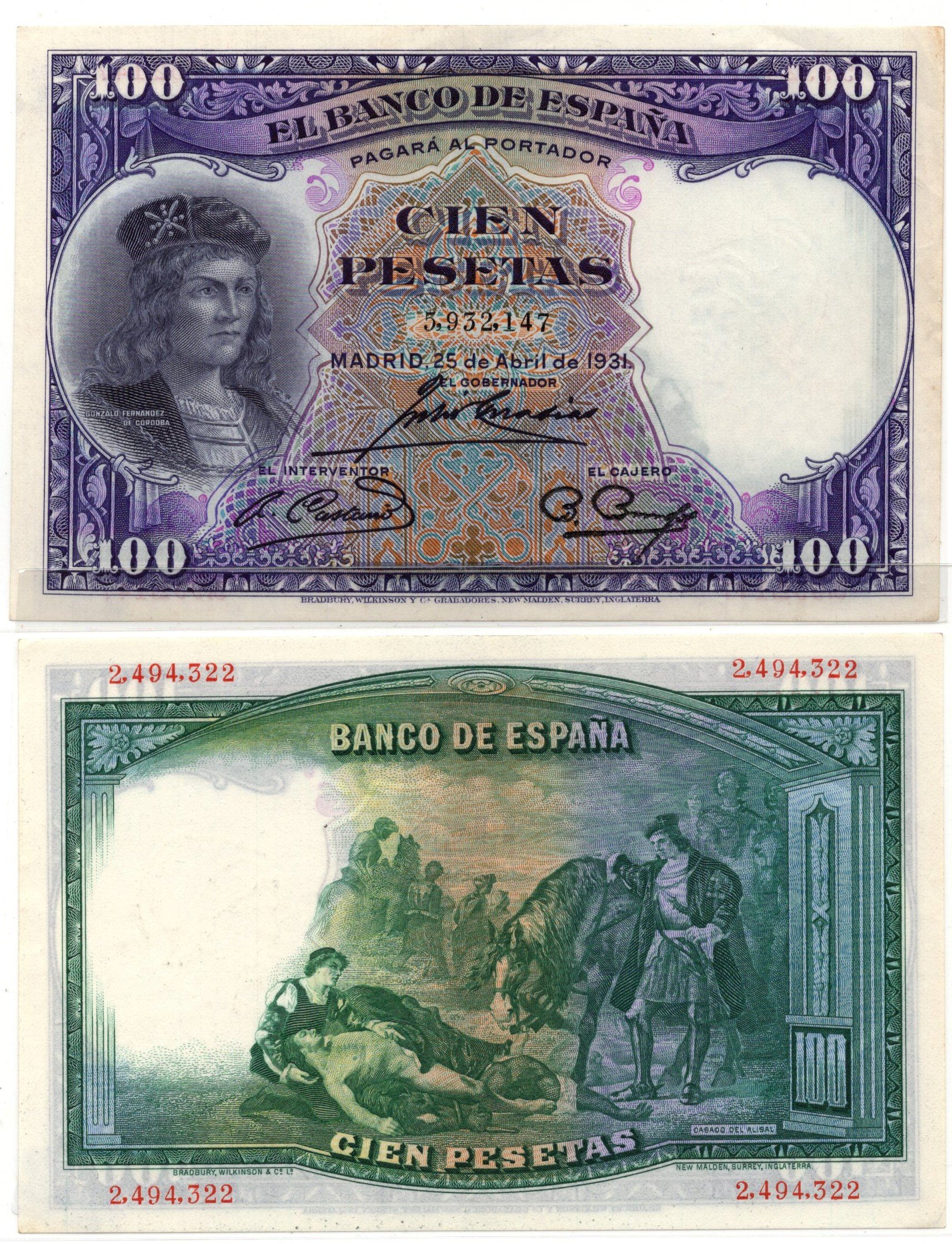 spain 100 pesetas 1031