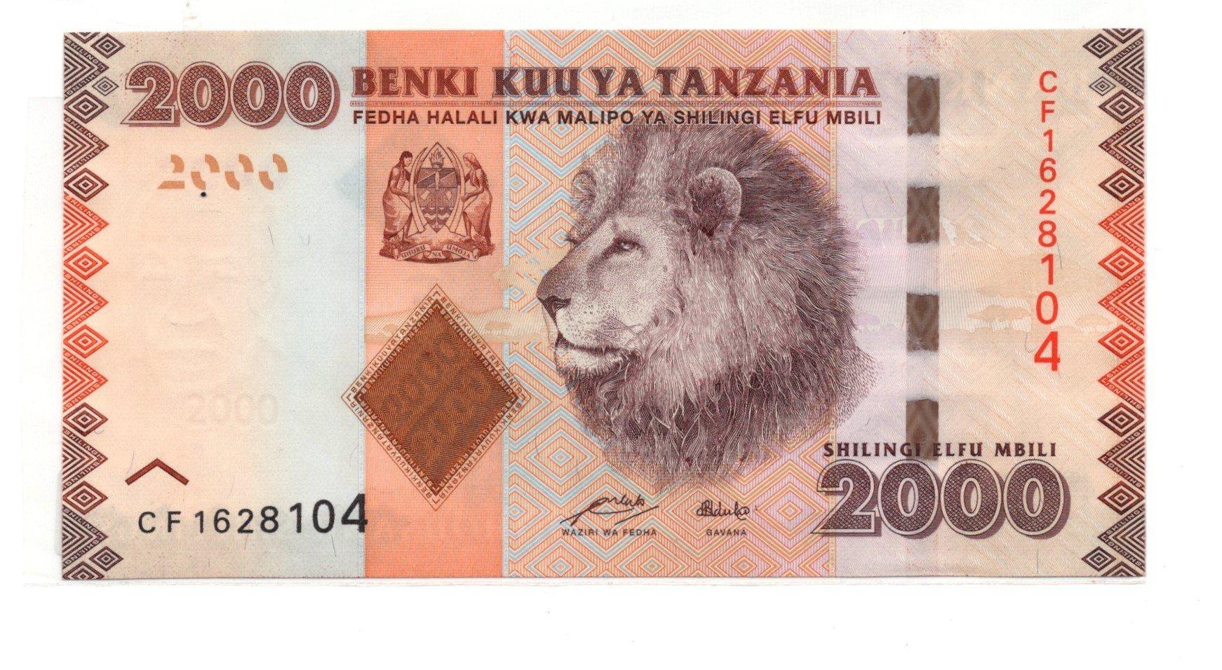 tanzania 2000 shillings