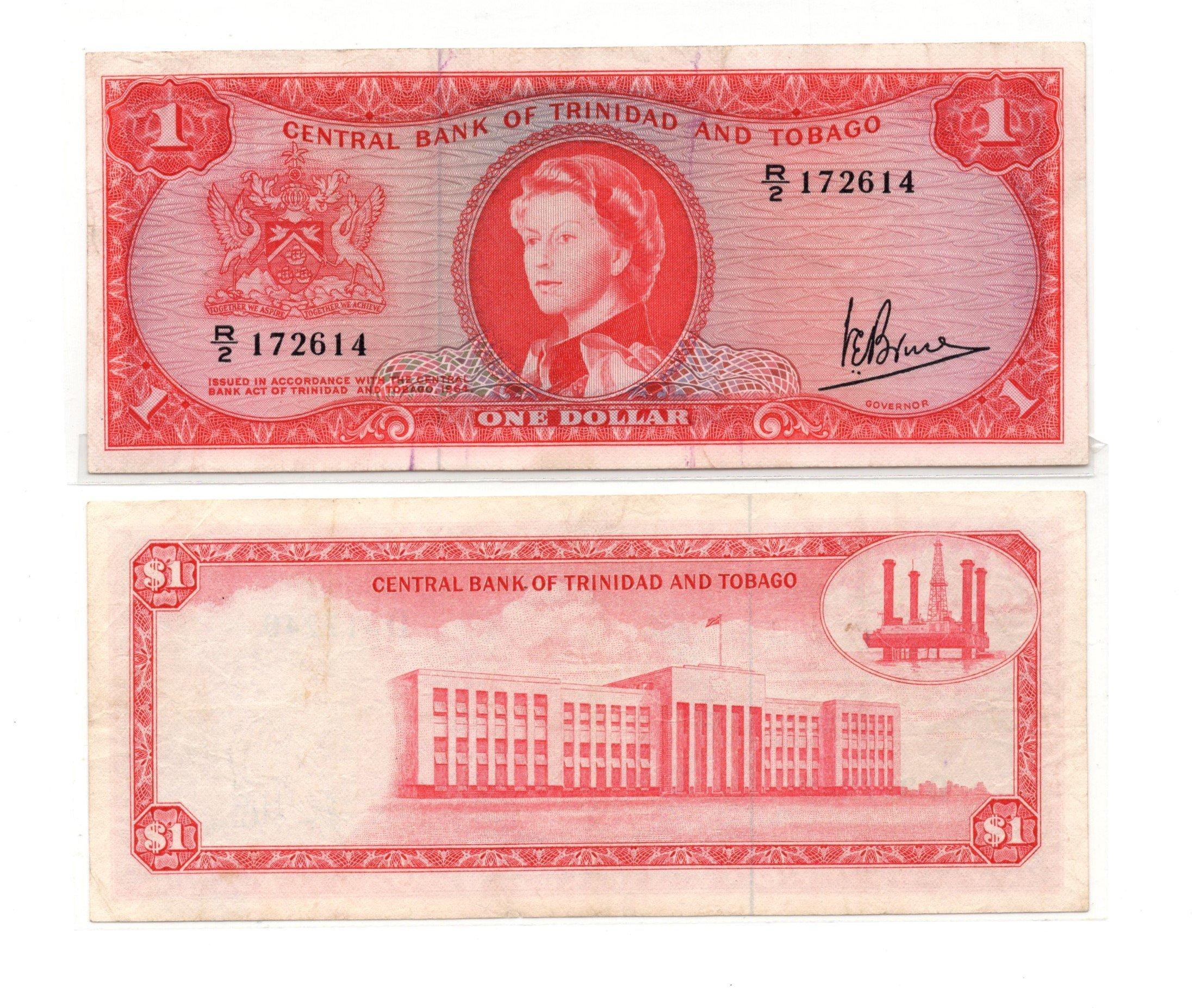 Trinidad and tobago 1 dollar