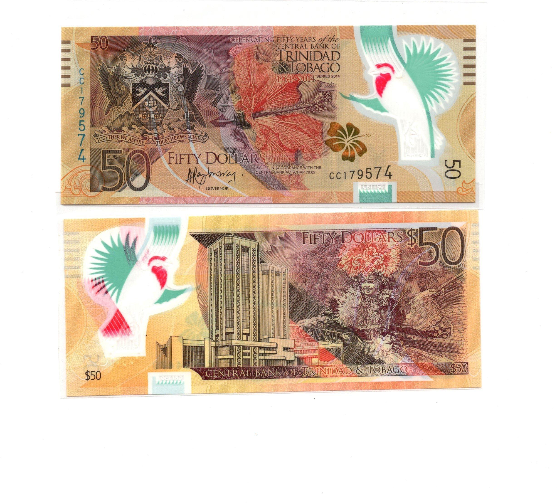 trinidad and tobago 50 dollars