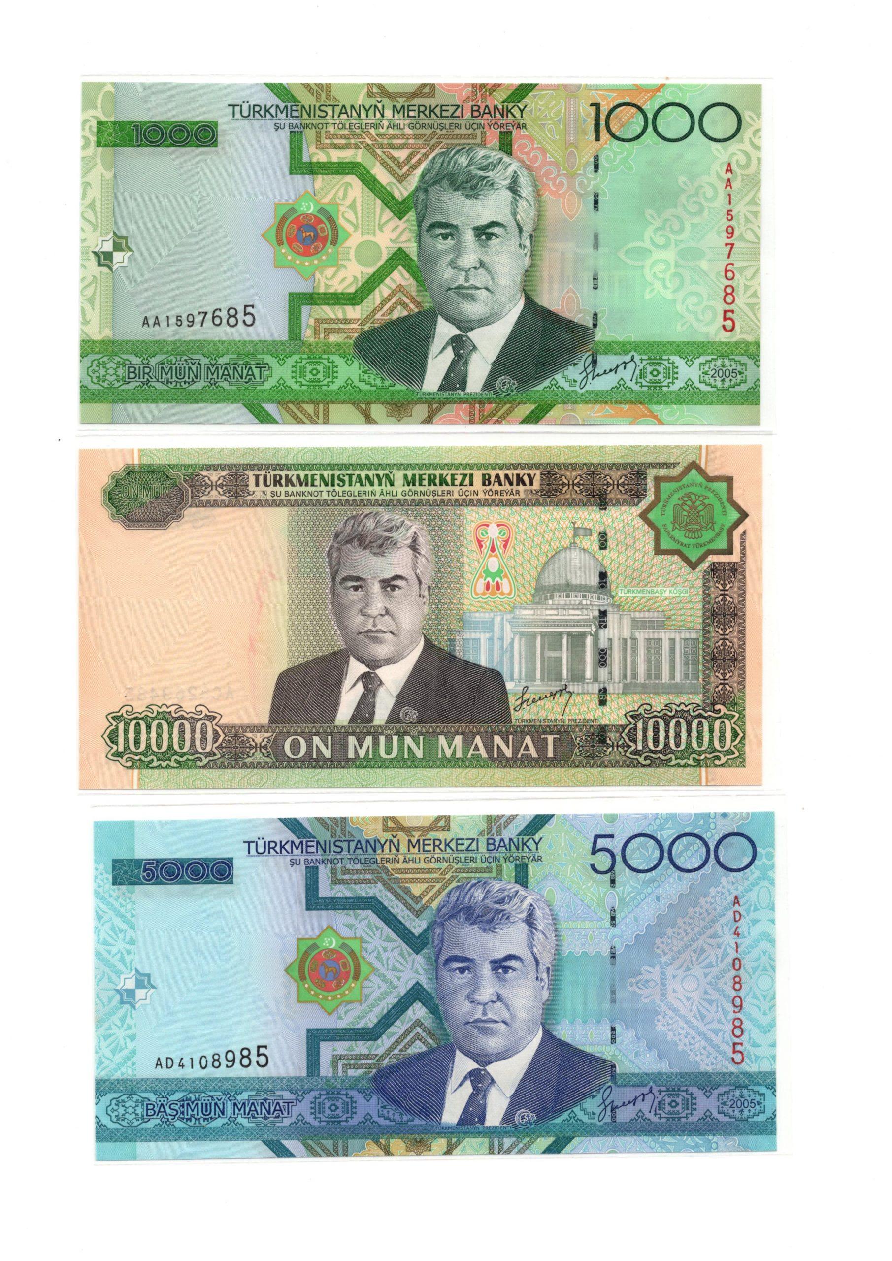turkmenistan set 3