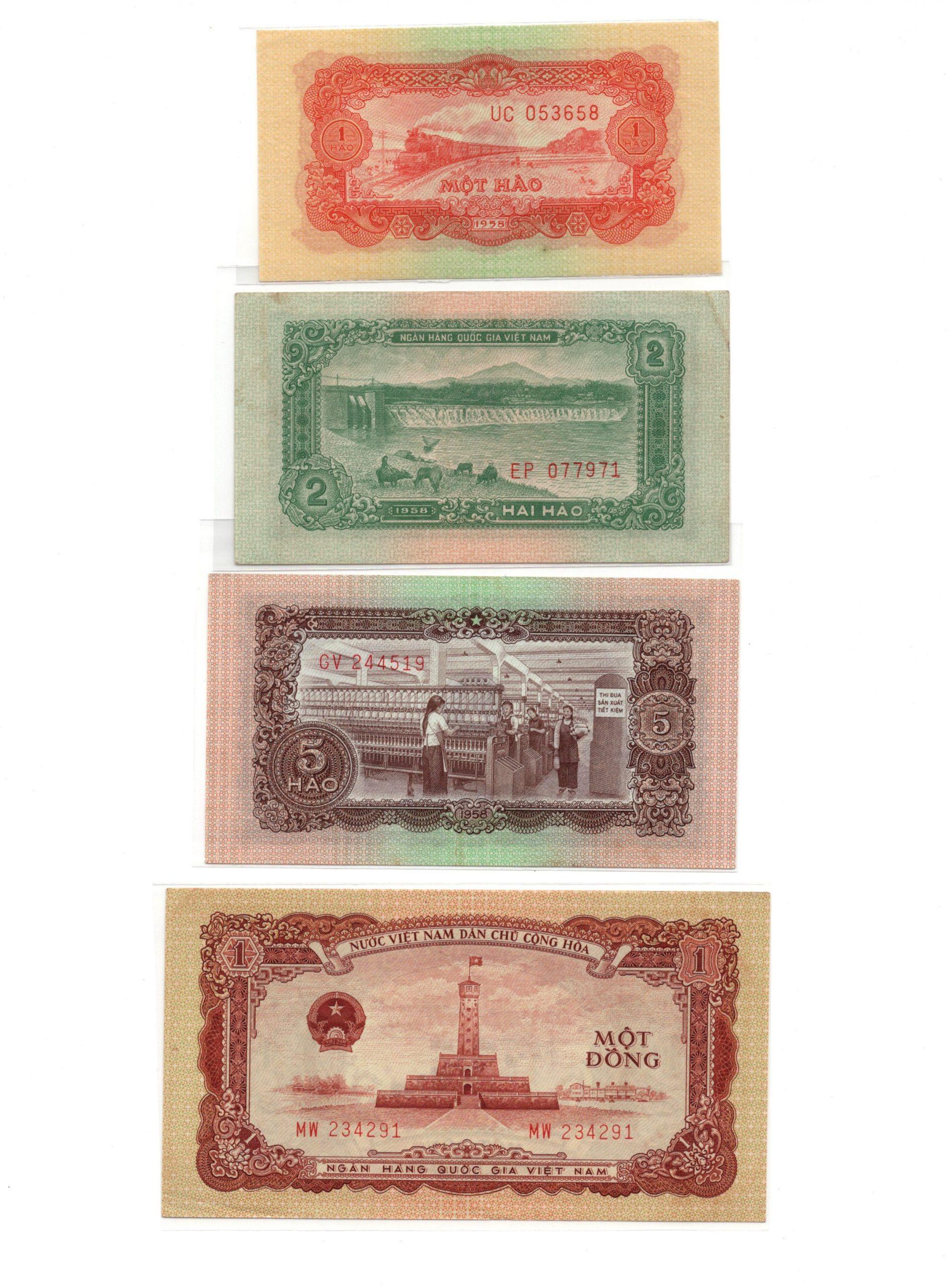 Vietnam 1958 set