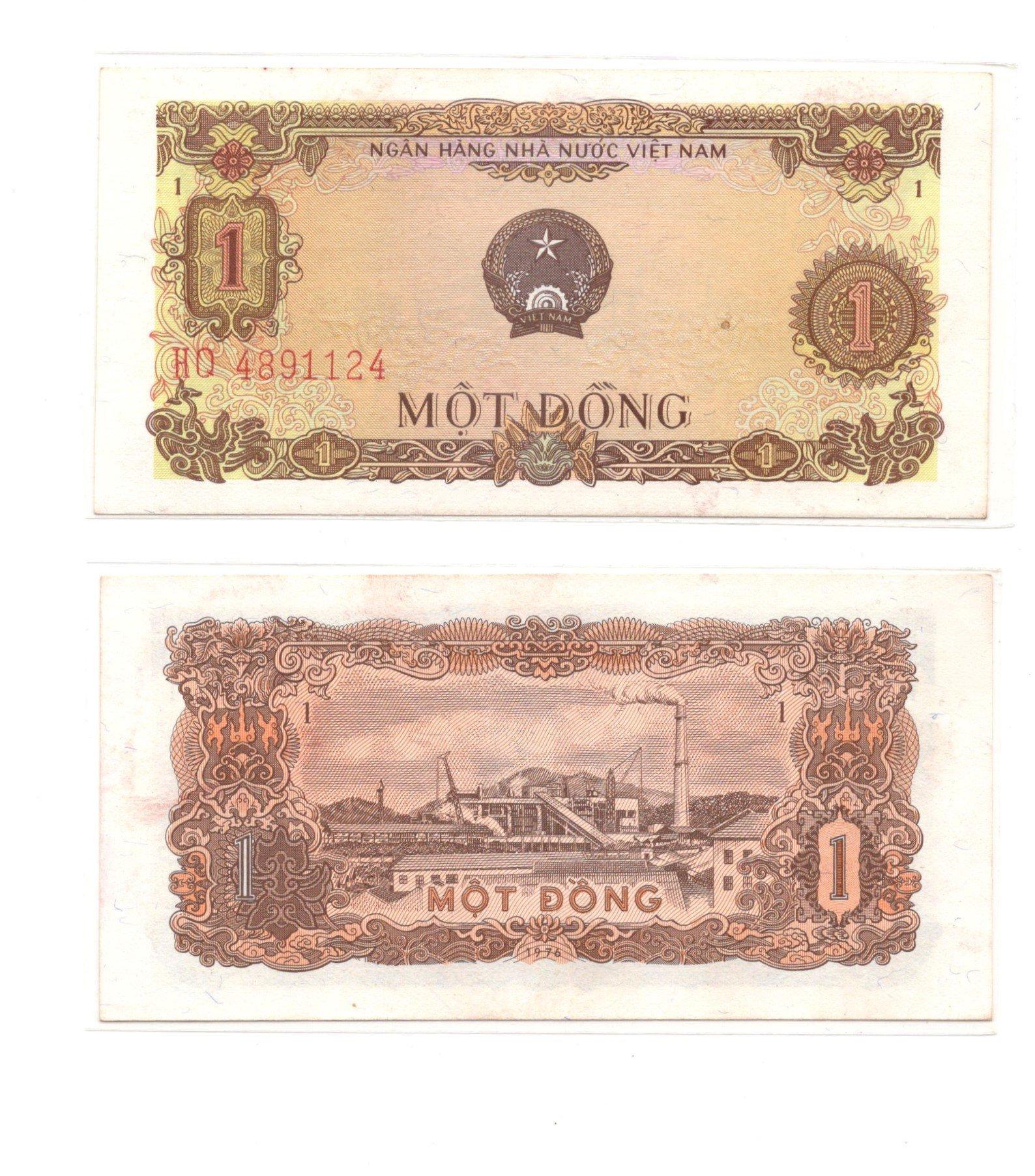 vietnam 1 dong 1976