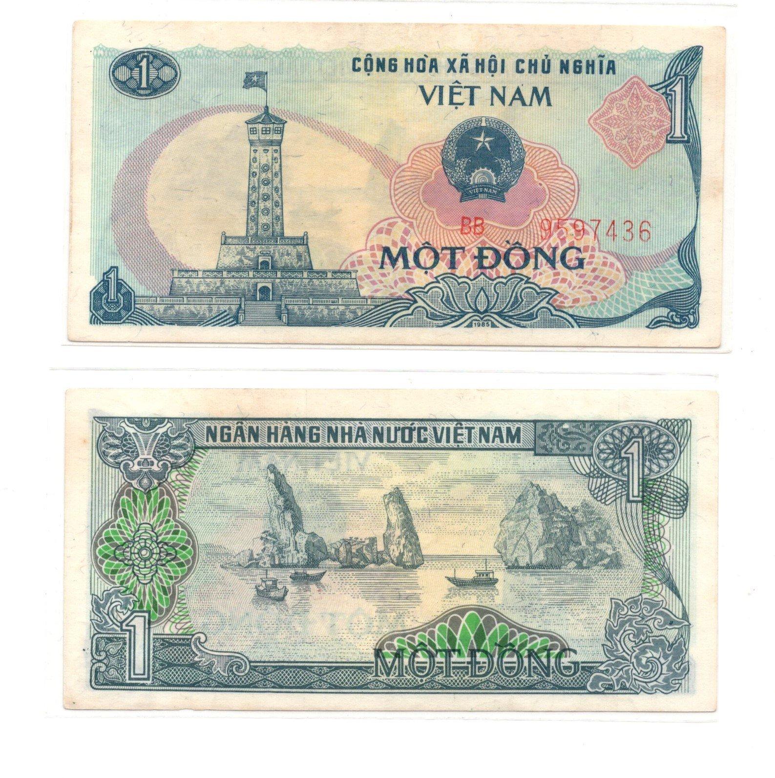 vietnam 1dong 1985