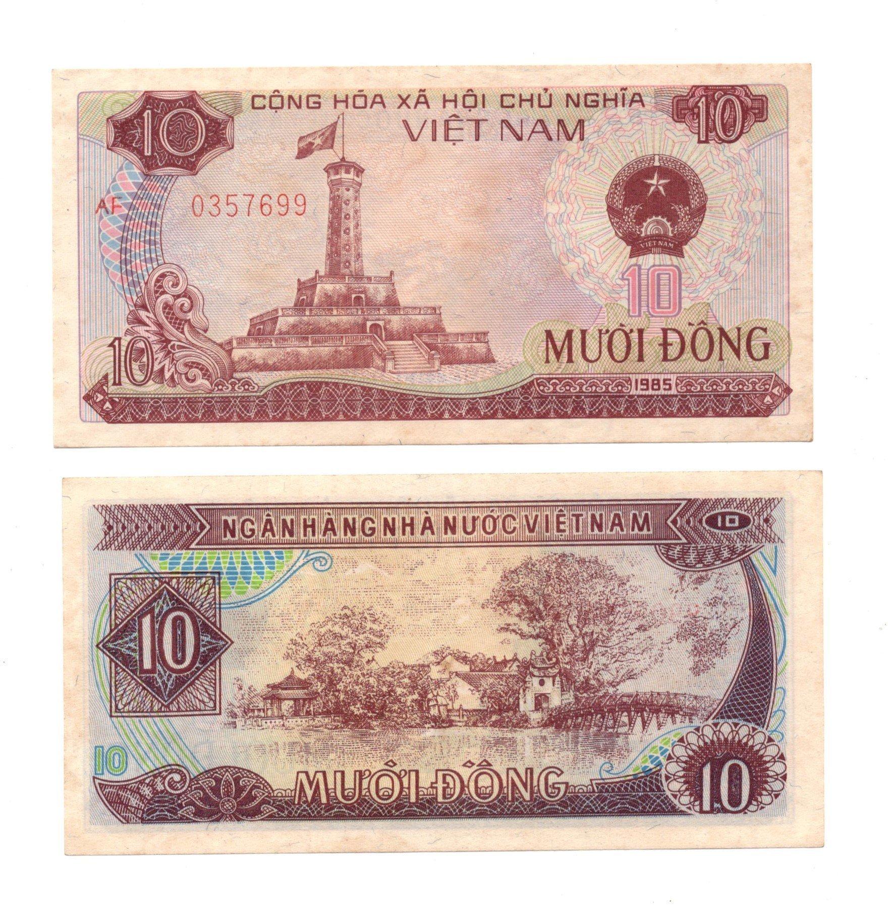 vietnam 10 dong 1985
