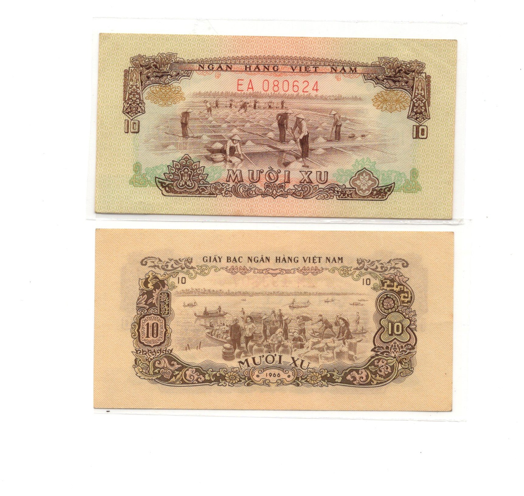 vietnam 10 xu 1966