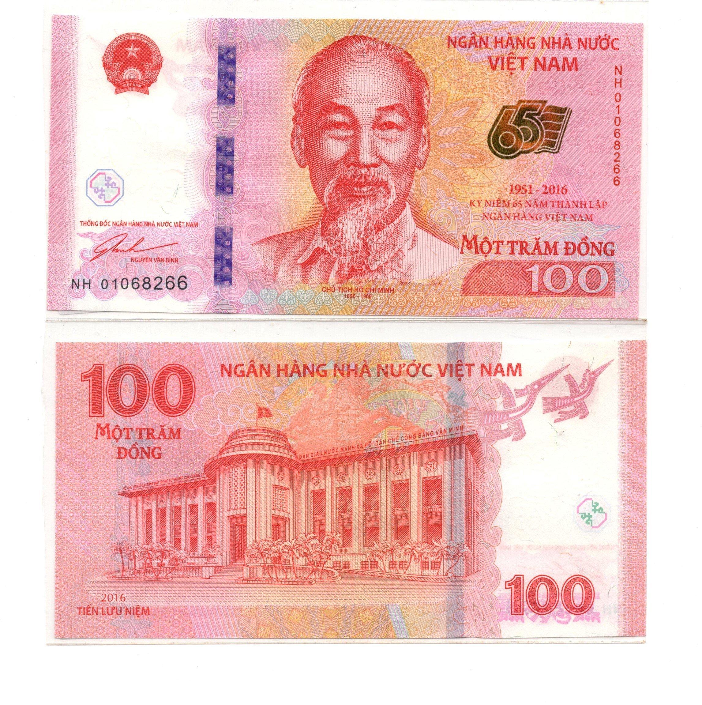 vietnam 100 dong 2016