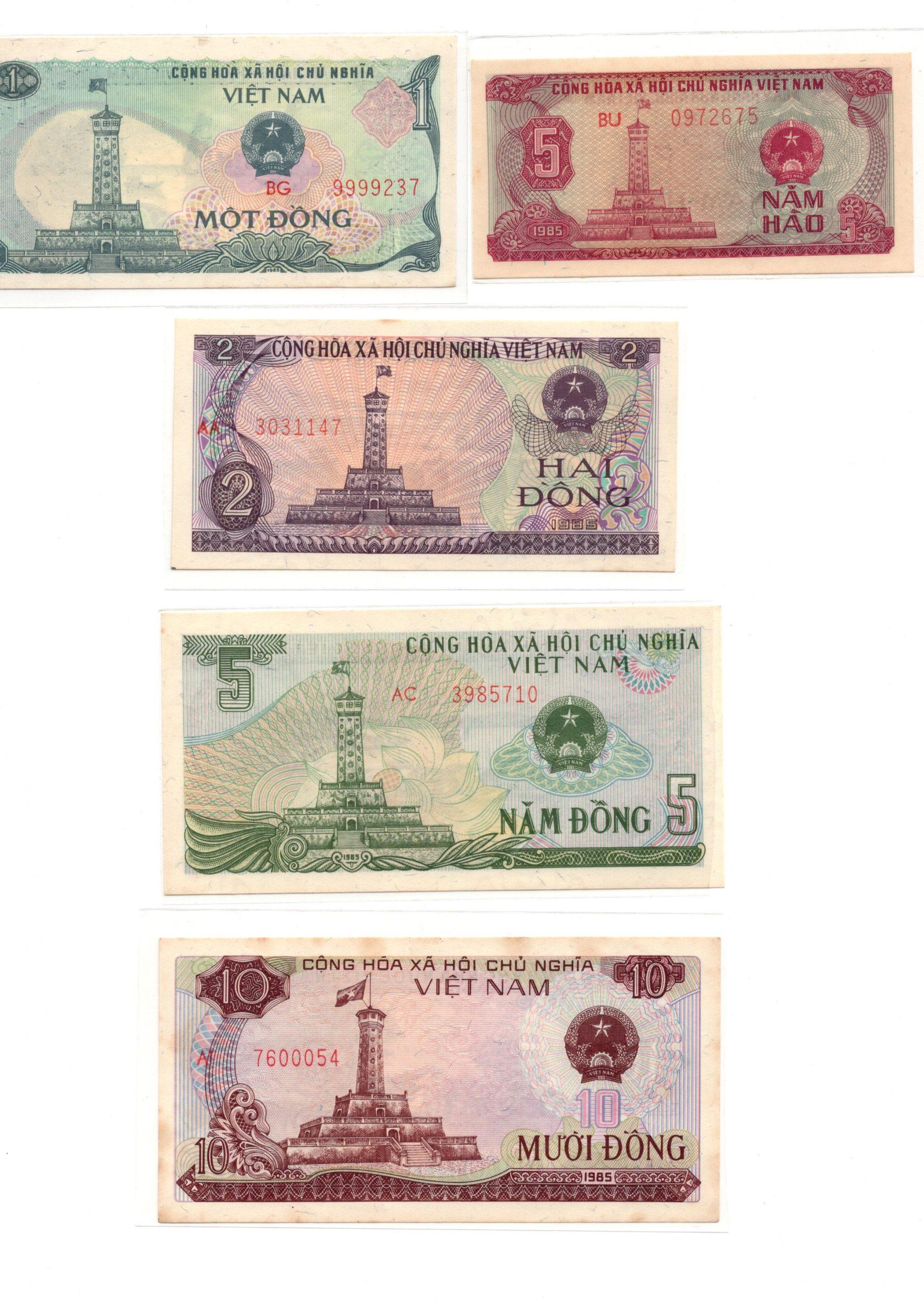 Vietnam 1985 set