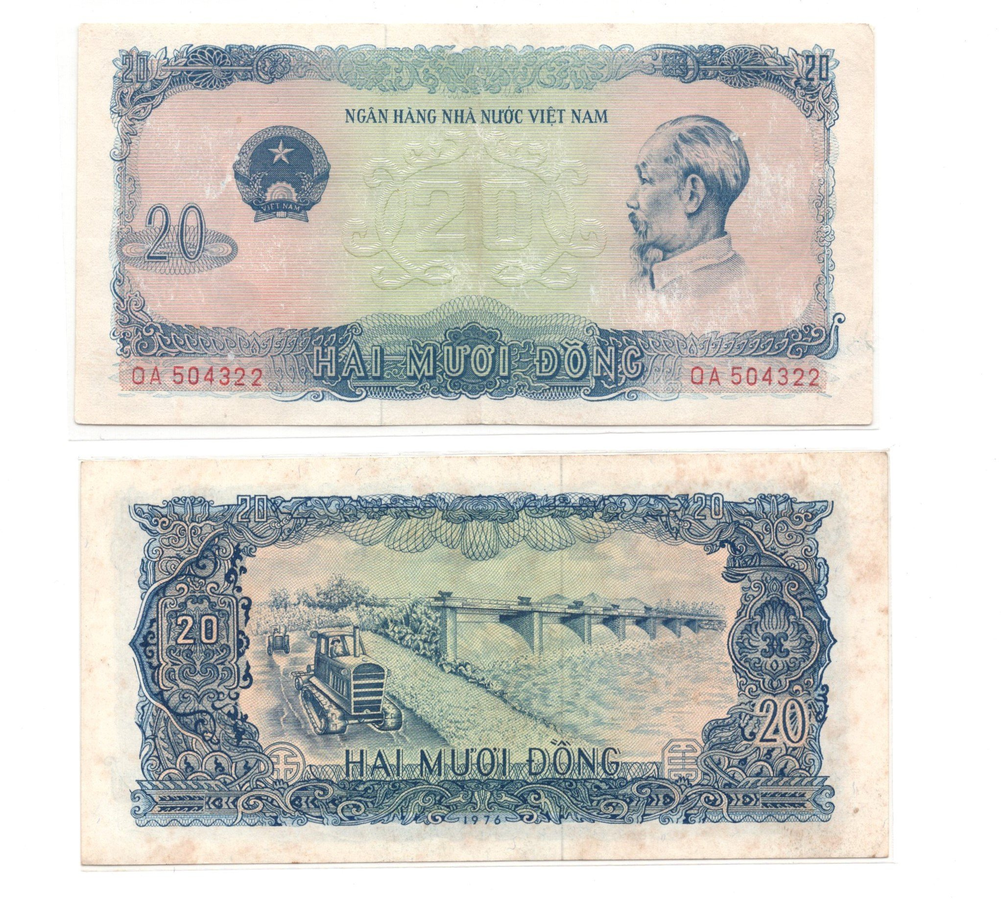vietnam 20 dong 1976