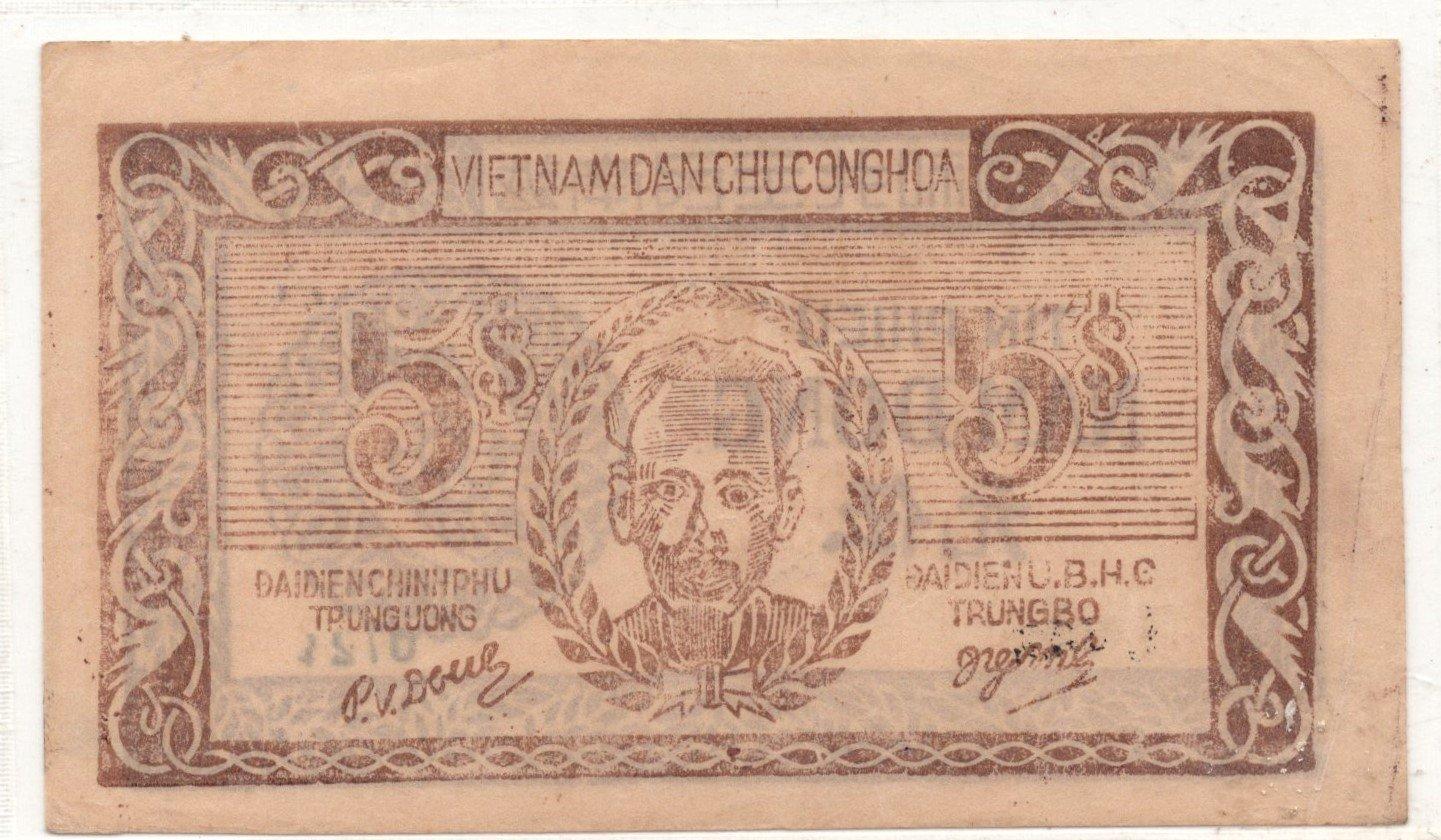 vietnam 5 dong 1946