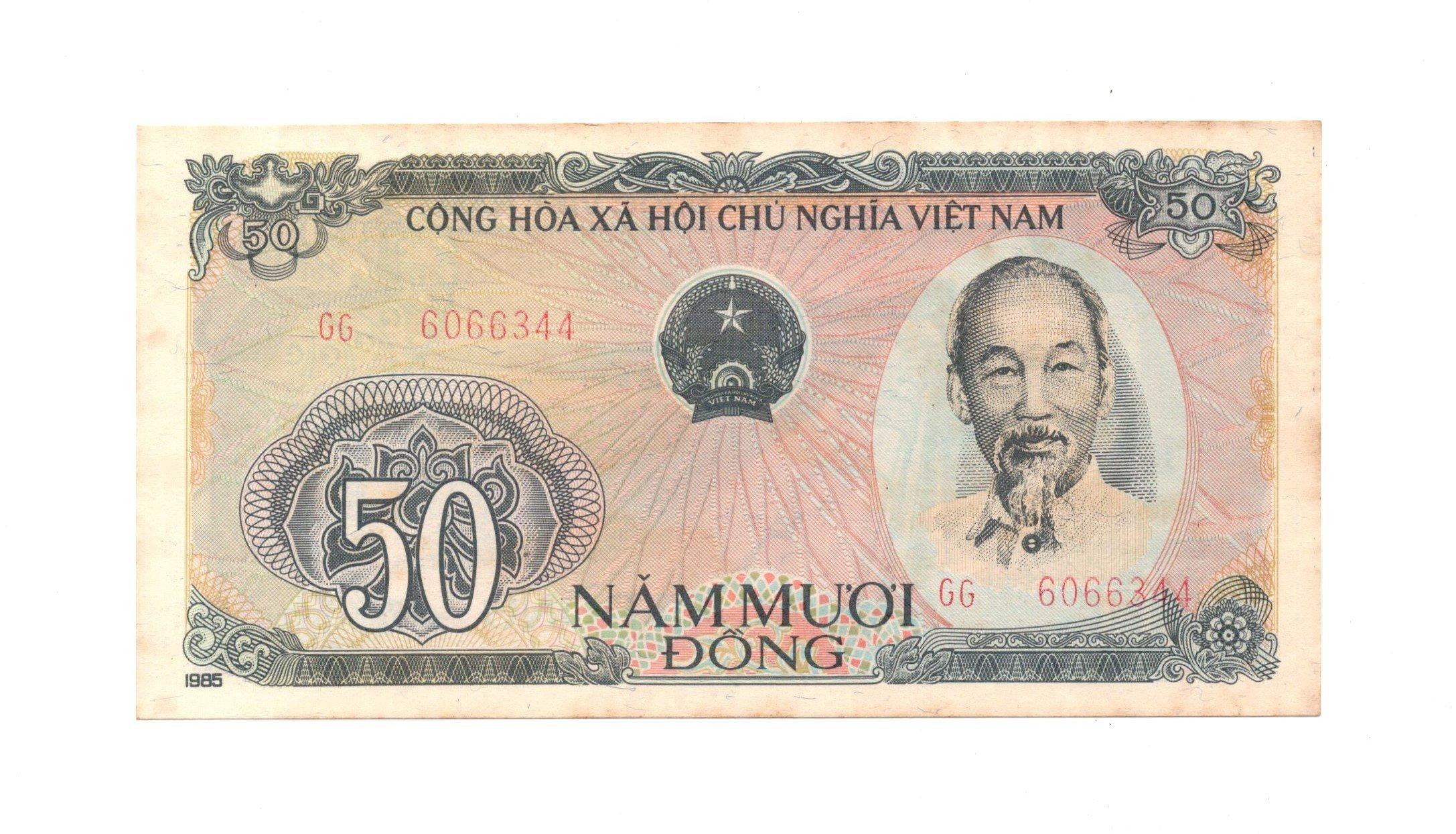 vvietnam 50 dong 1985