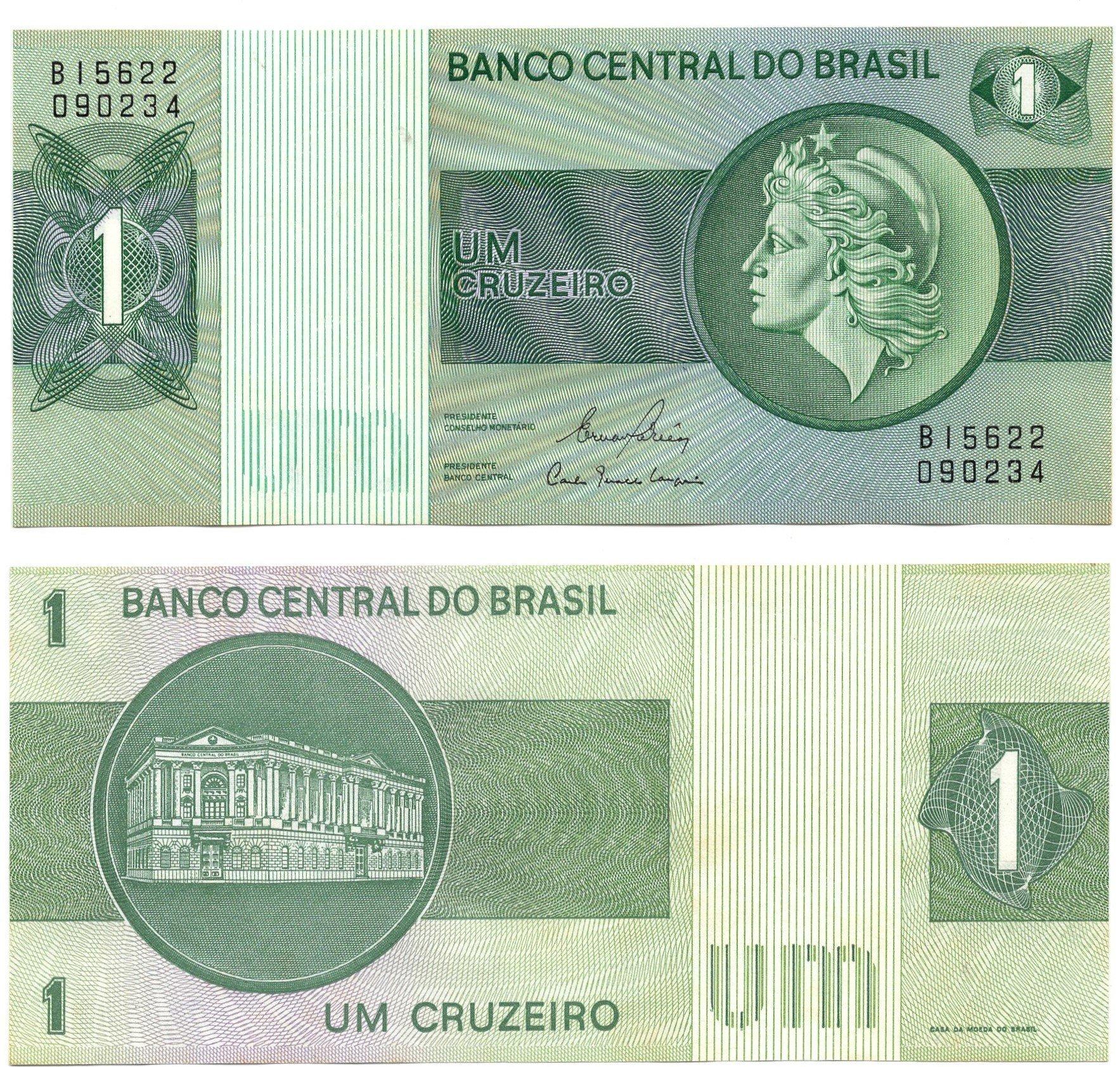 brazil 1 cruzeiro