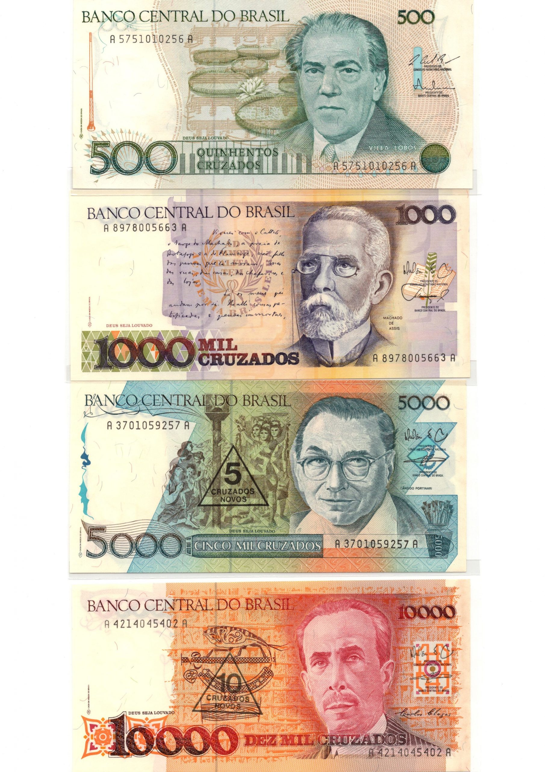 brazil 500-10000 set 2