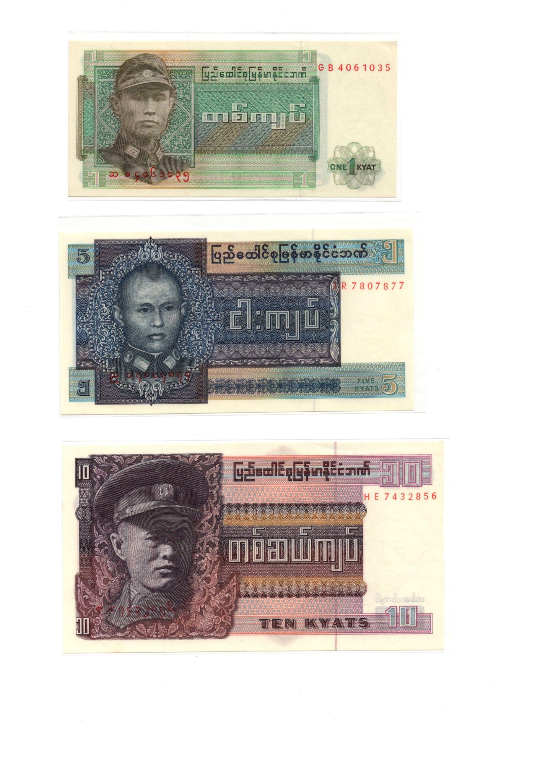 Burma set 1