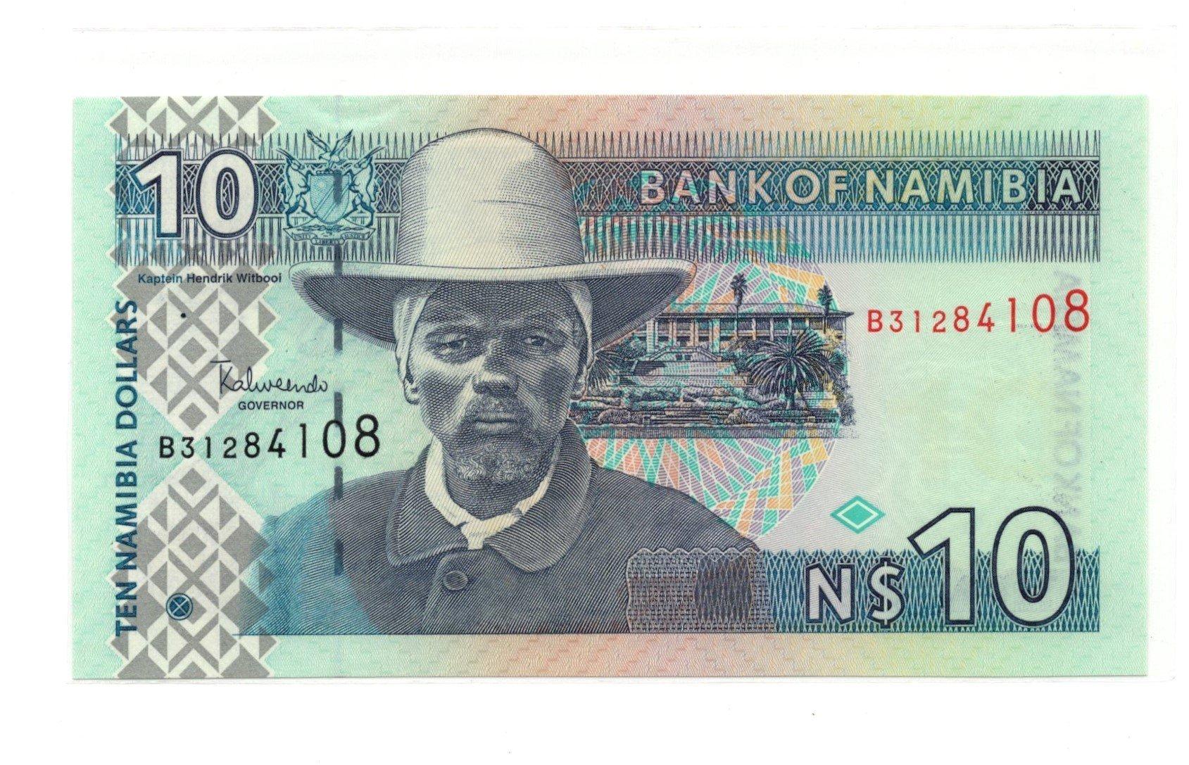 namibia 10 dollars