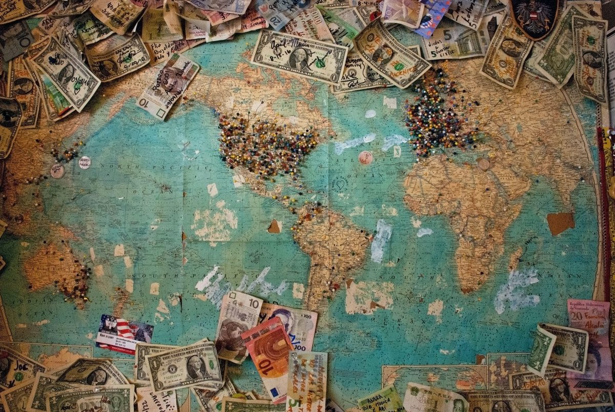 World banknote collection