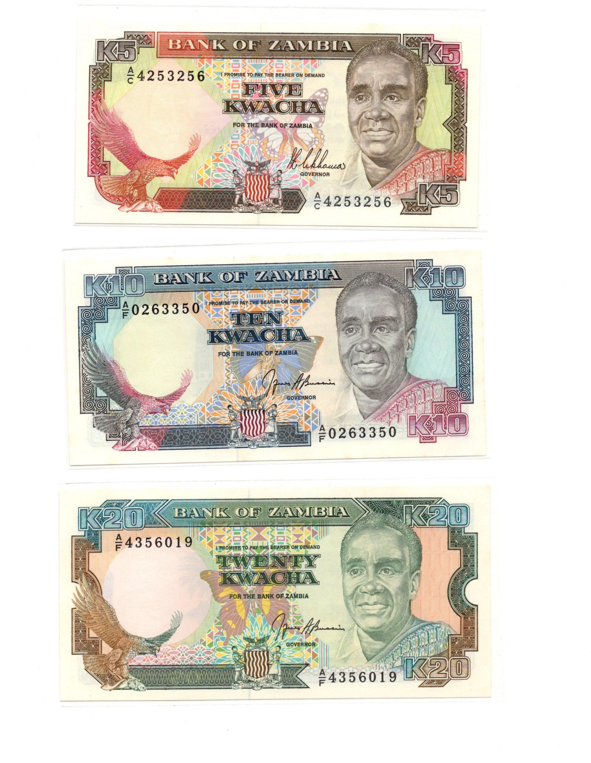 zambia 5-10-20 set