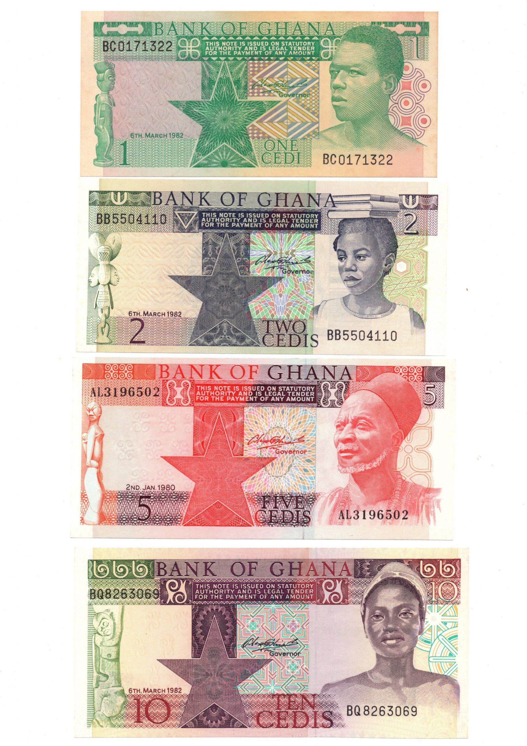 Ghana 1982 set