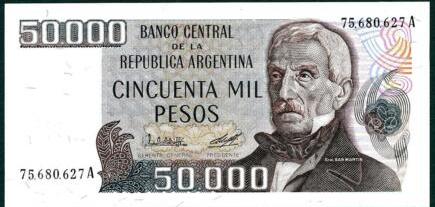 Argentina 50000 pesos