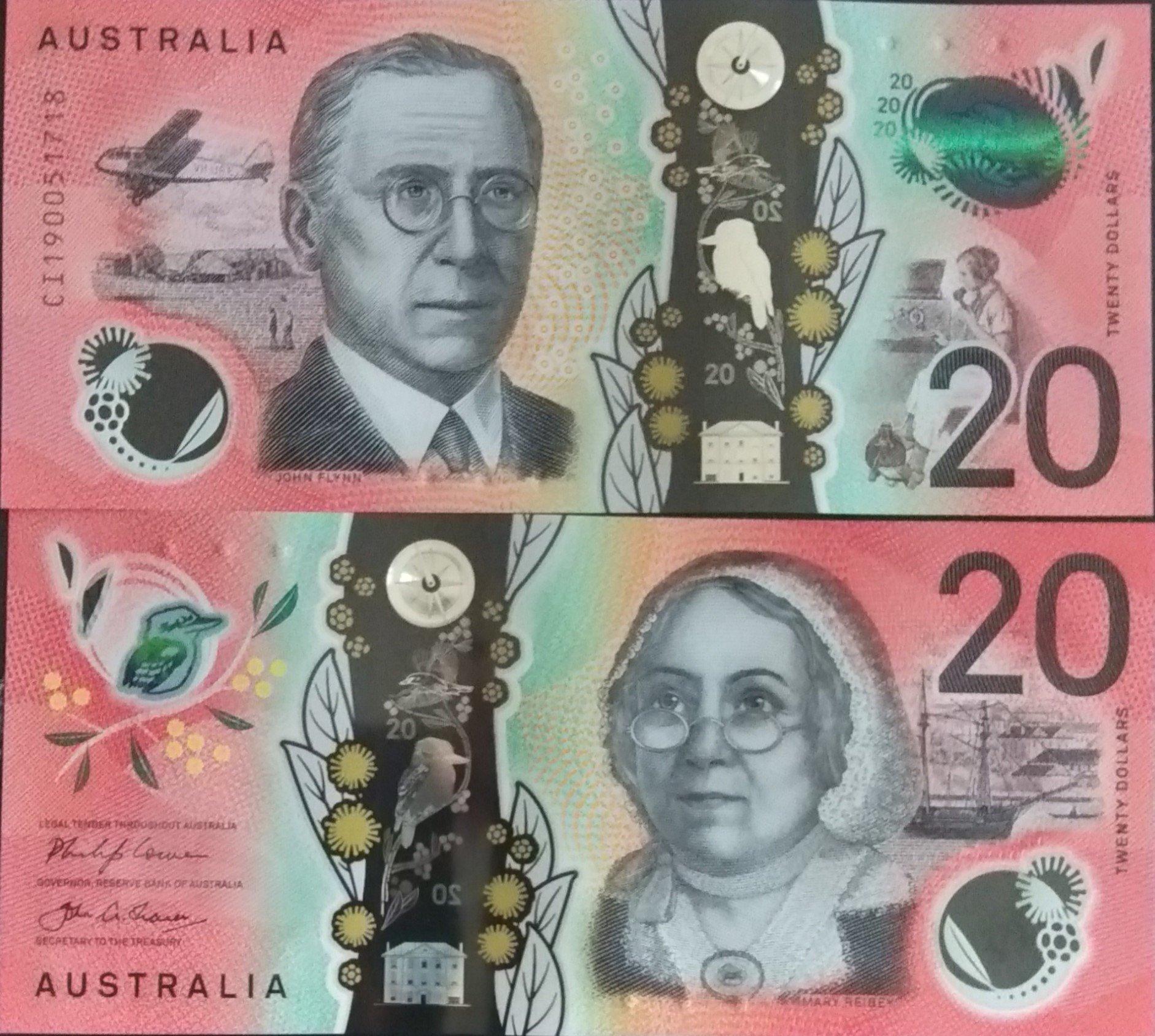 Australia 20 dollars 2019 for sale