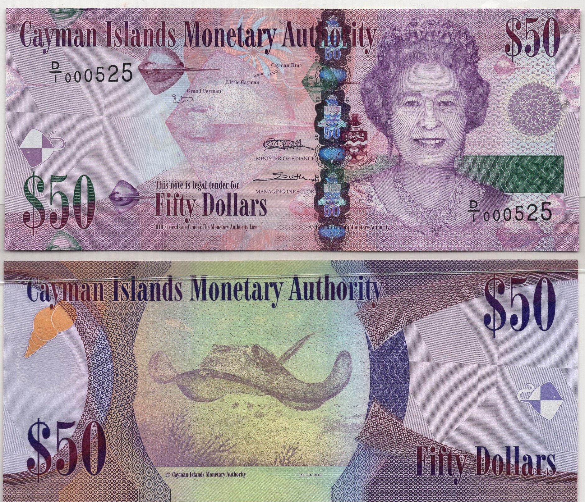 Cayman Islands 10 dollars 2010 for sale